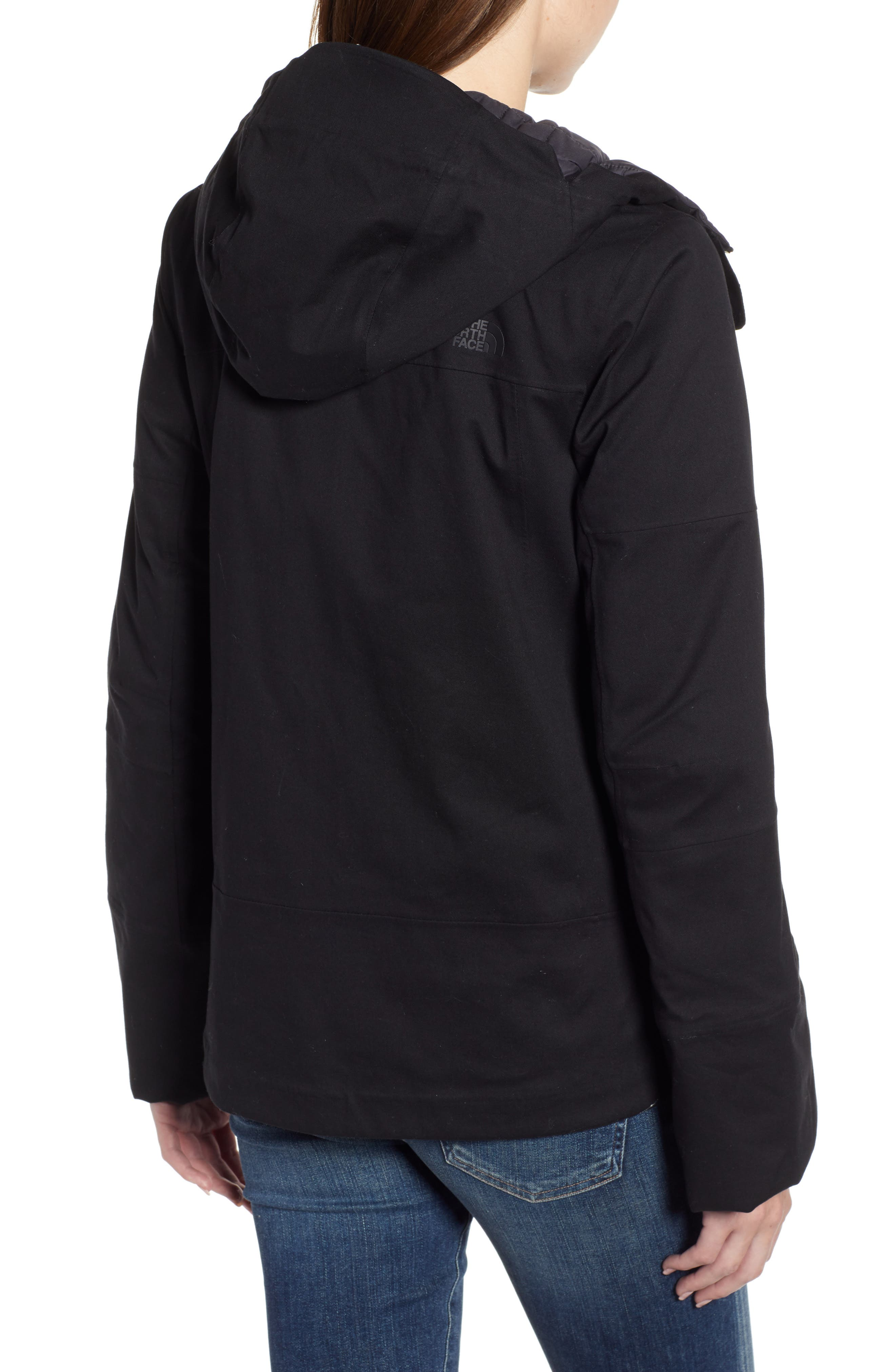 THE NORTH FACE,                             Cryos 2L Mountain Gore-Tex<sup>®</sup> Down Jacket,                             Alternate thumbnail 2, color,                             TNF BLACK
