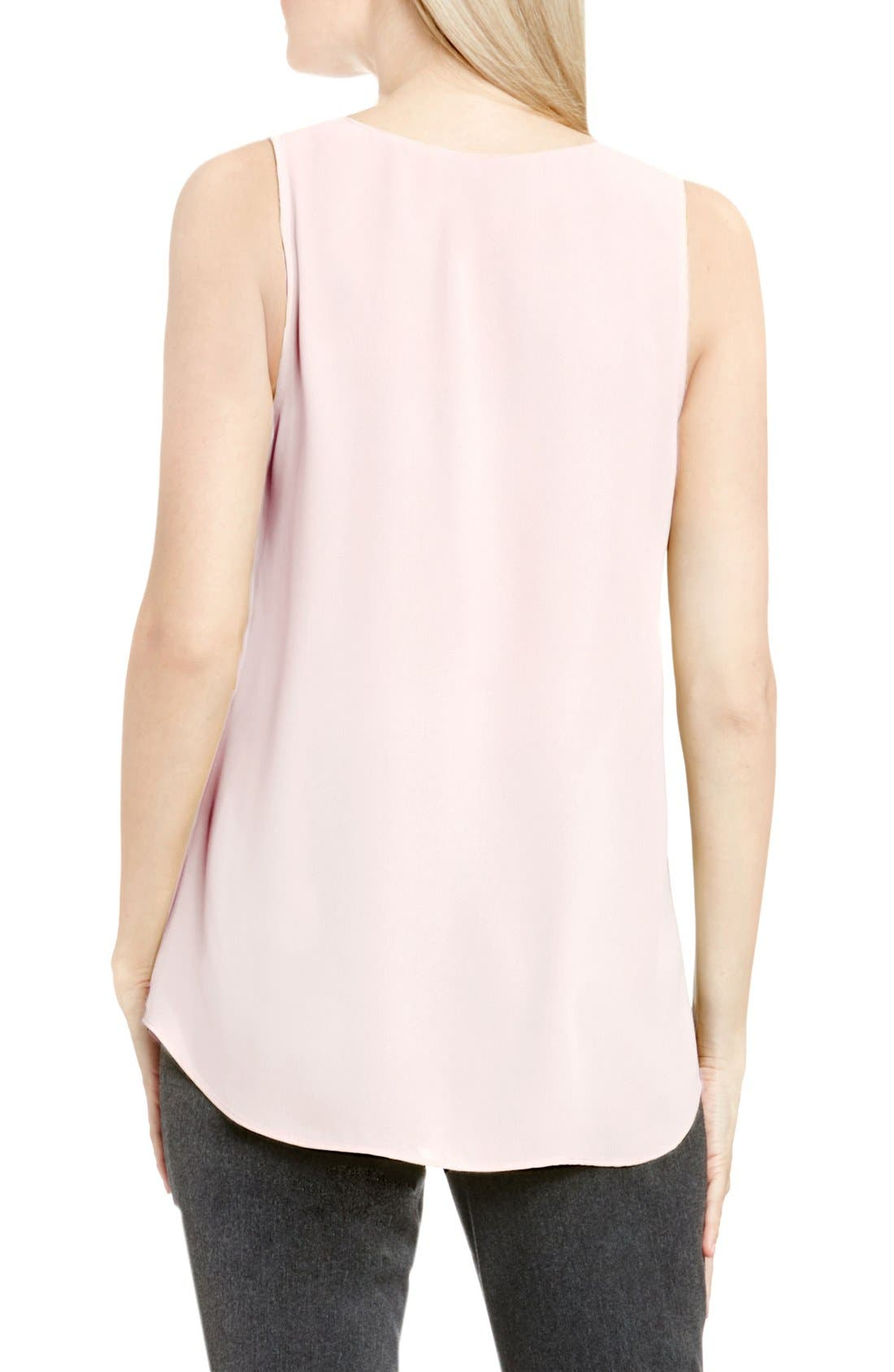 Drape Front V-Neck Sleeveless Blouse,                             Alternate thumbnail 79, color,