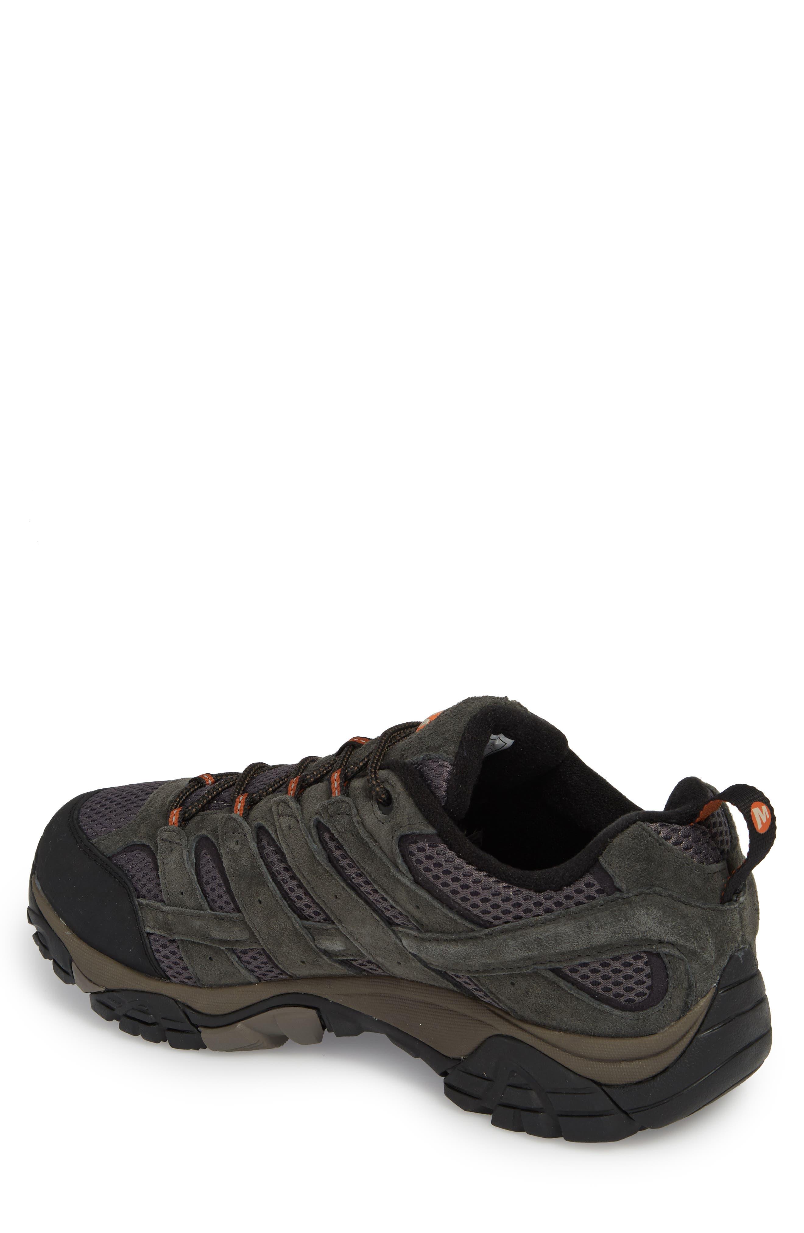 Moab 2 Waterproof HIking Shoe,                             Alternate thumbnail 2, color,                             BELUGA/ BELUGA