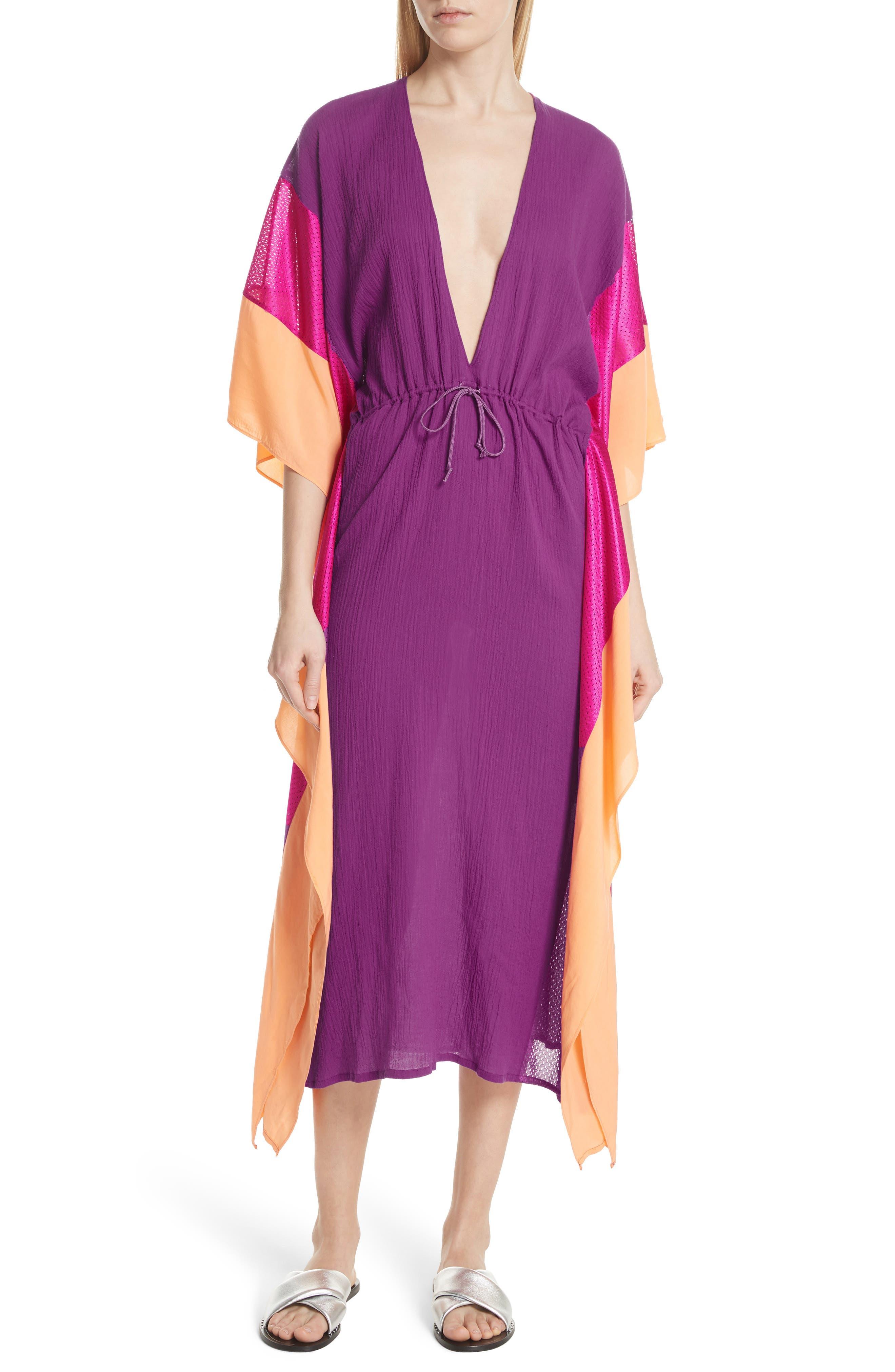 Sun Dance Caftan Dress,                             Main thumbnail 1, color,                             650