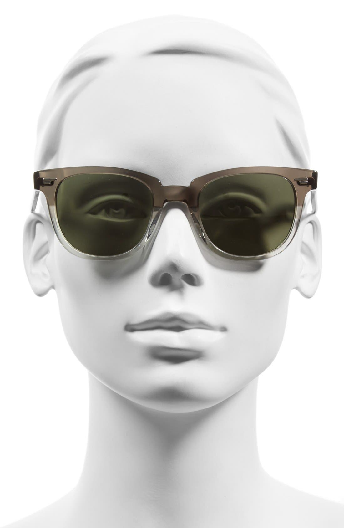 'Masek' 51mm Retro Sunglasses,                             Alternate thumbnail 3, color,