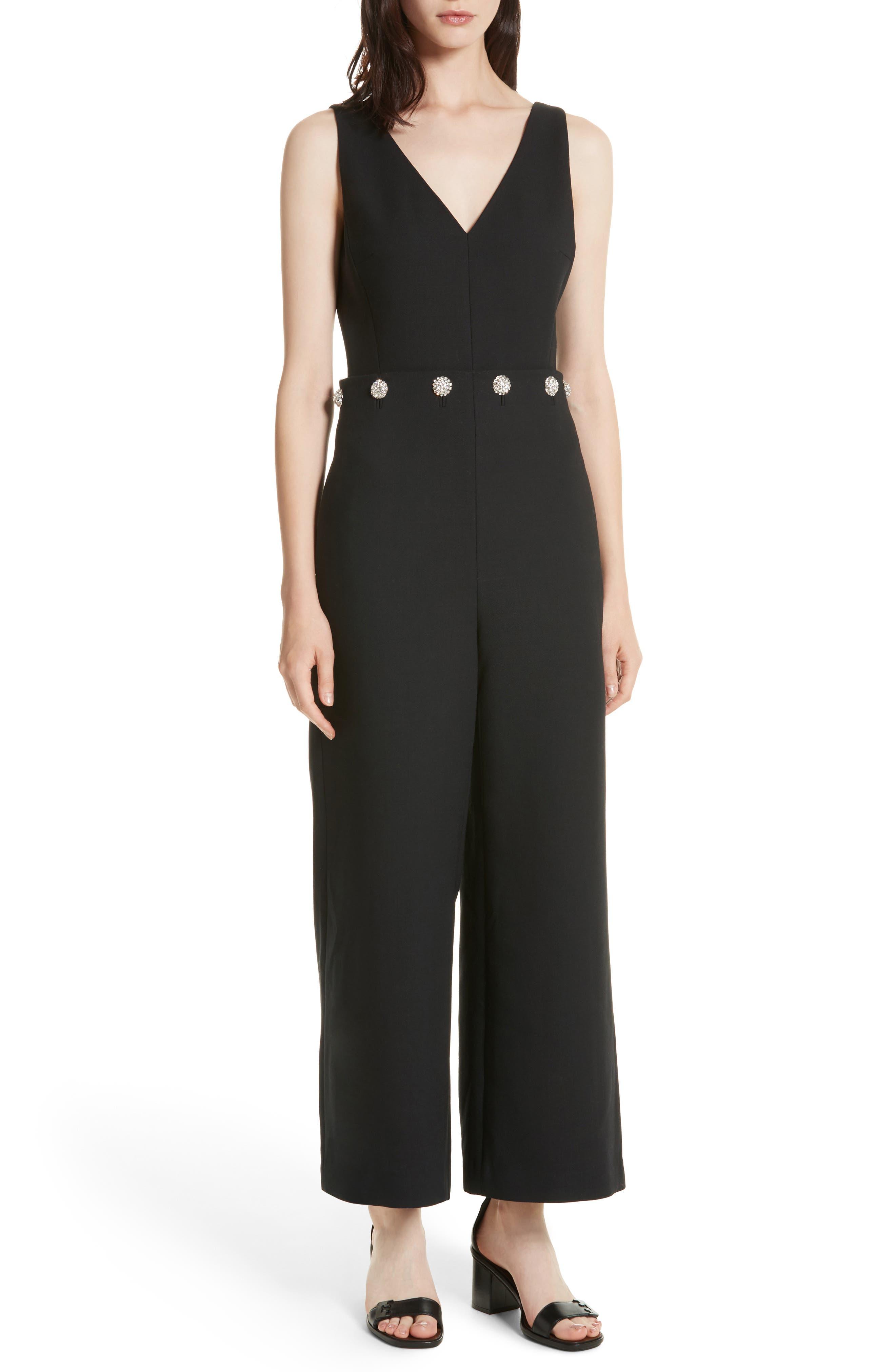 Fremont Embellished Jumpsuit, Main, color, 001