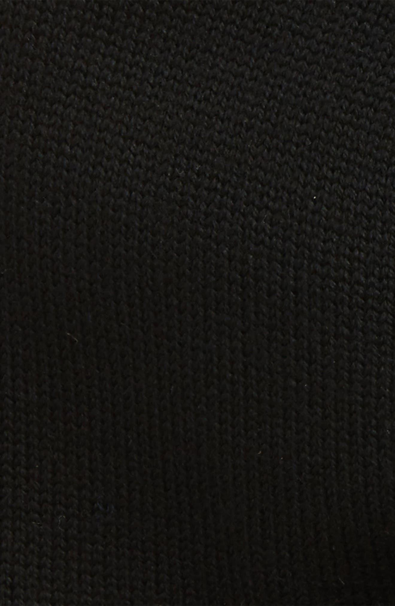 Jersey Knit Skull Cap,                             Alternate thumbnail 2, color,                             001