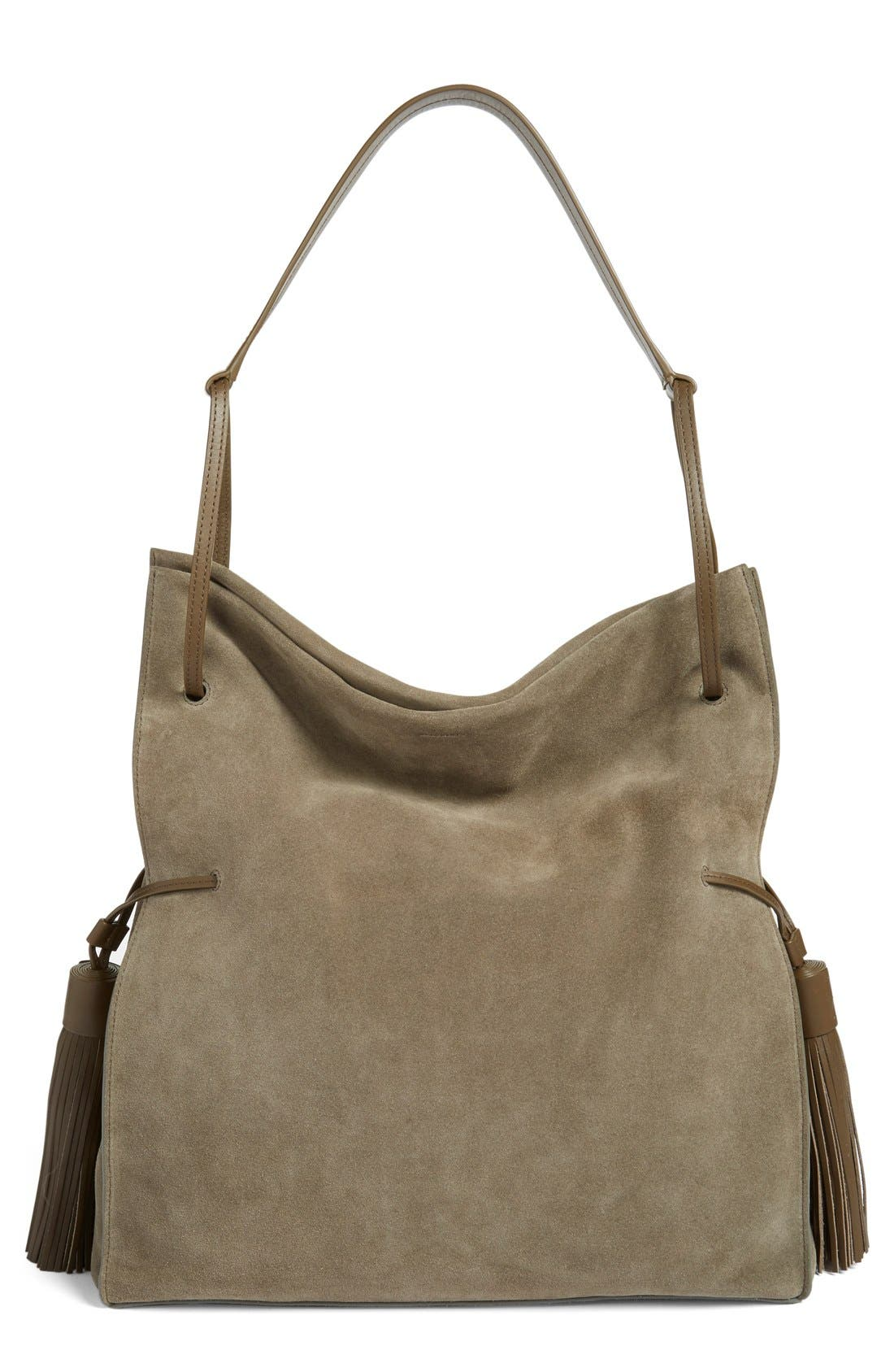Freedom Suede Hobo,                             Main thumbnail 6, color,