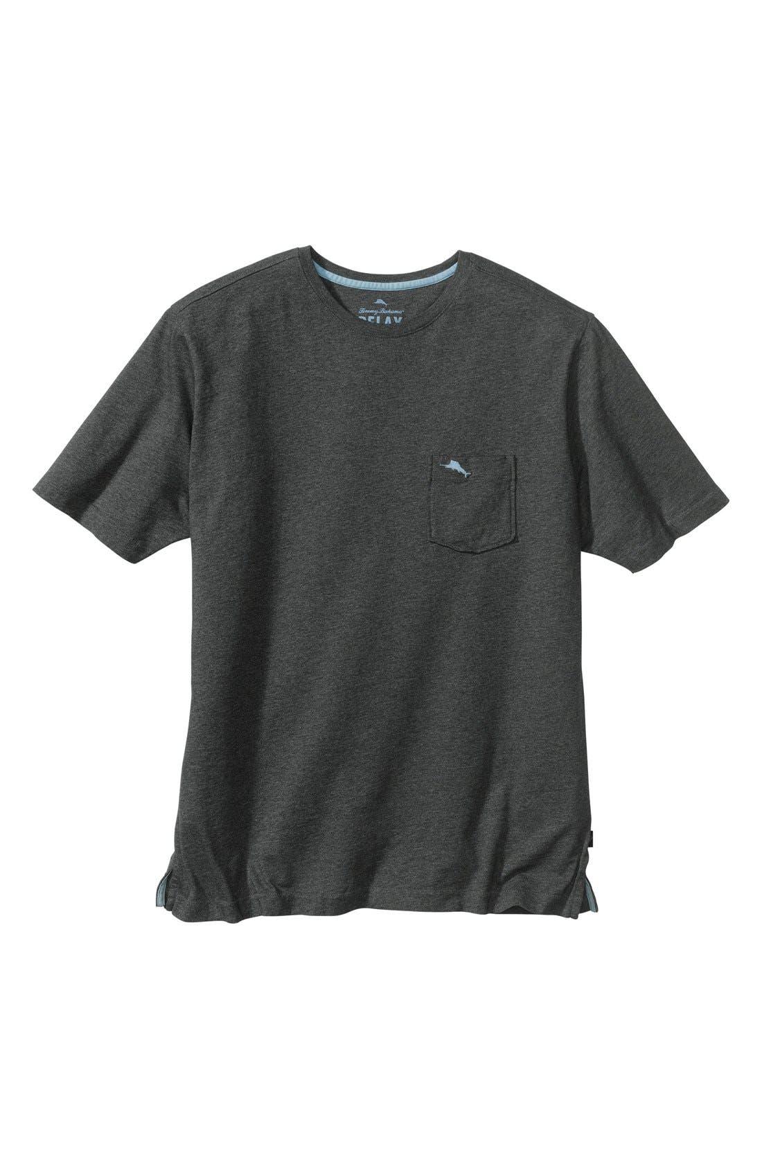 New Bali Sky Pima Cotton Pocket T-Shirt,                             Main thumbnail 7, color,