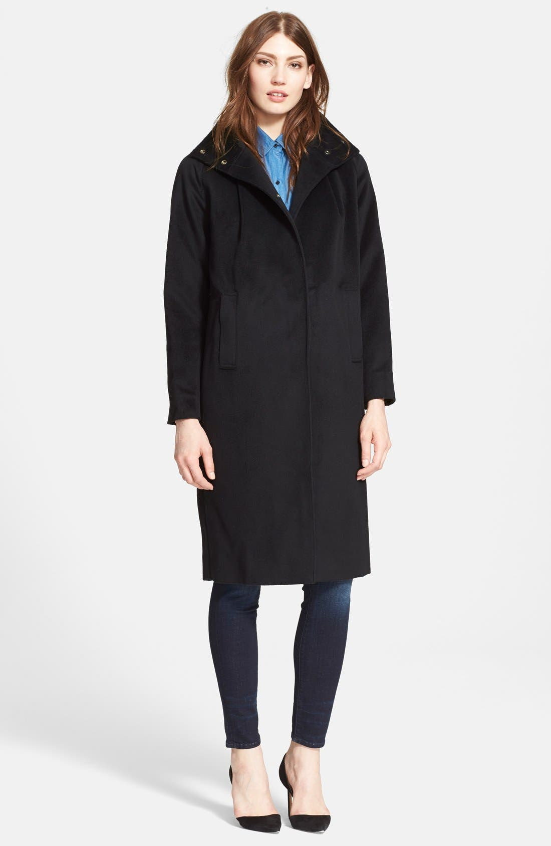 AYR 'The Stockholm' Wool Coat, Main, color, 001
