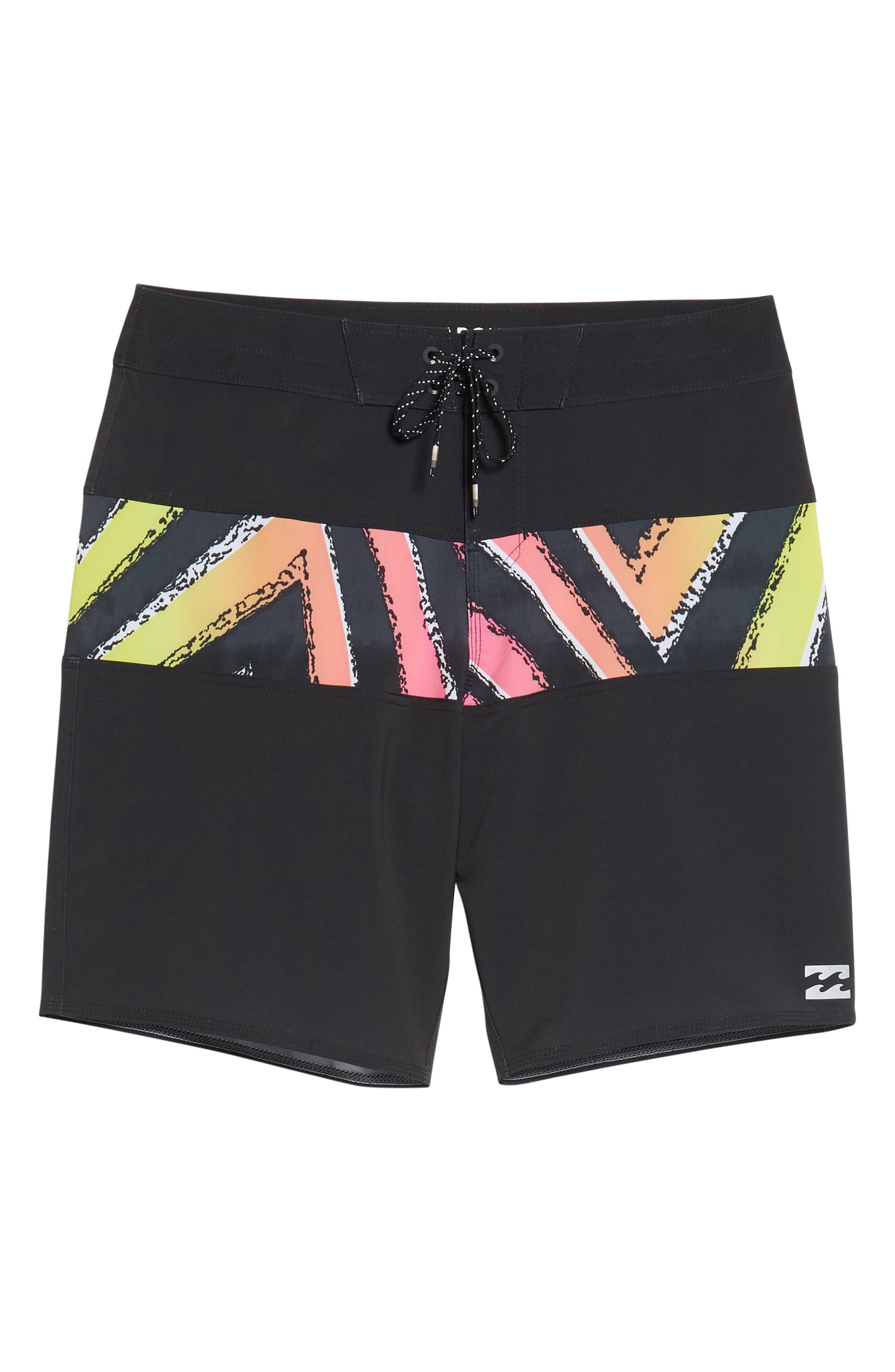 Tribong X Board Shorts,                             Alternate thumbnail 6, color,                             001