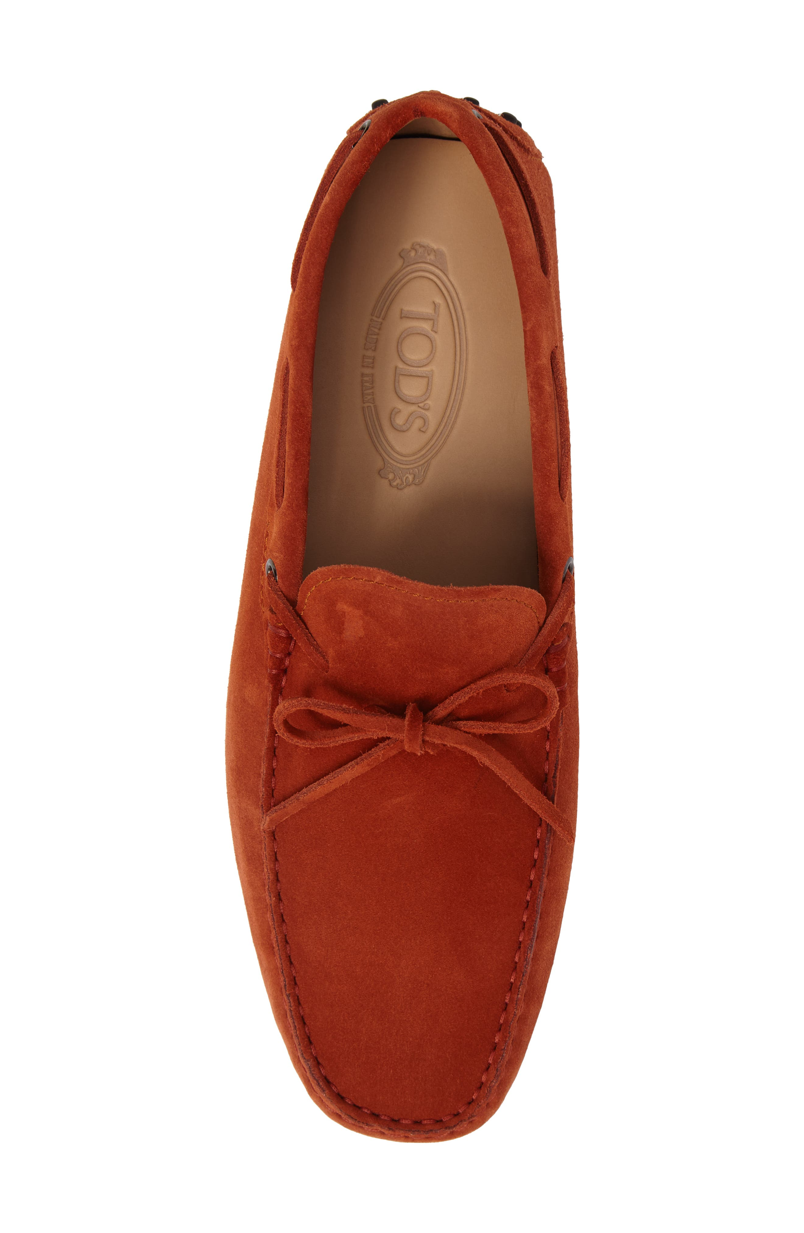 Gommini Tie Front Driving Moccasin,                             Alternate thumbnail 93, color,