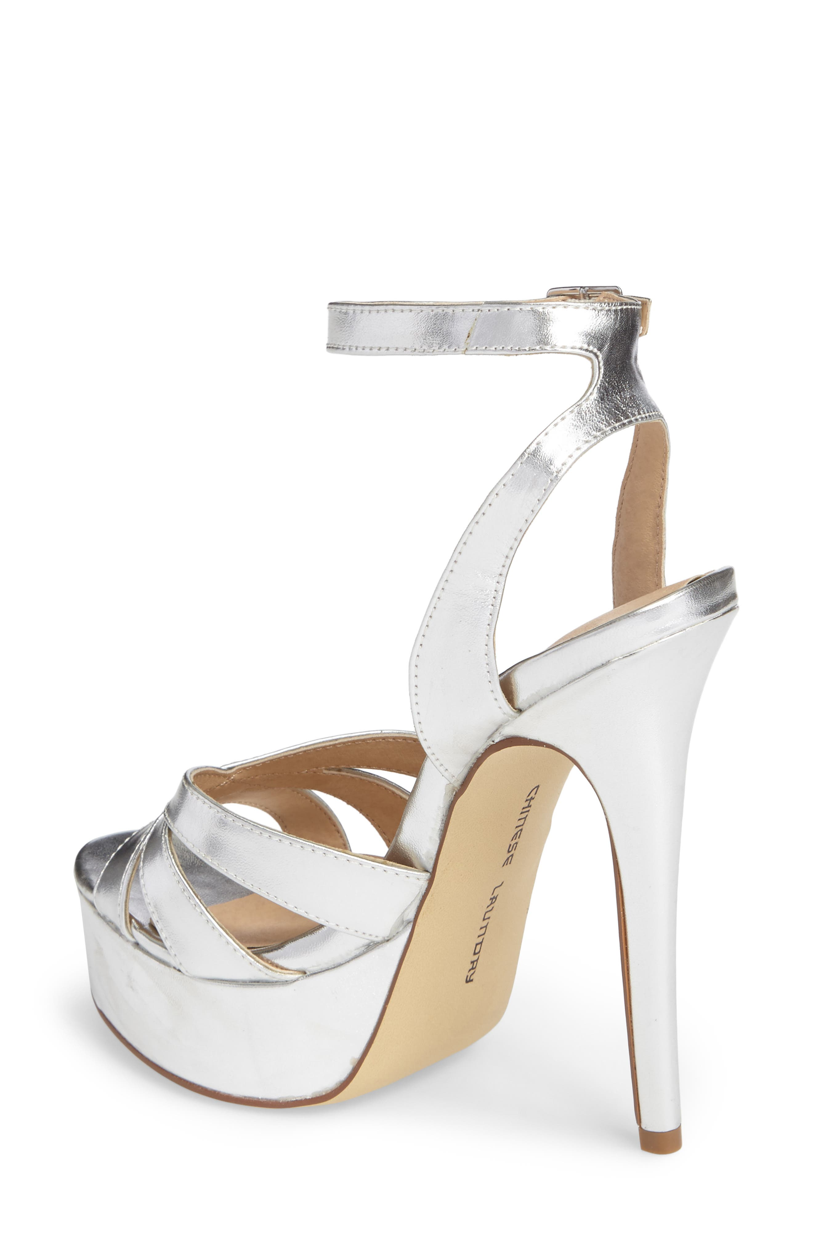 Alyssa Strappy Platform Sandal,                             Alternate thumbnail 2, color,                             040