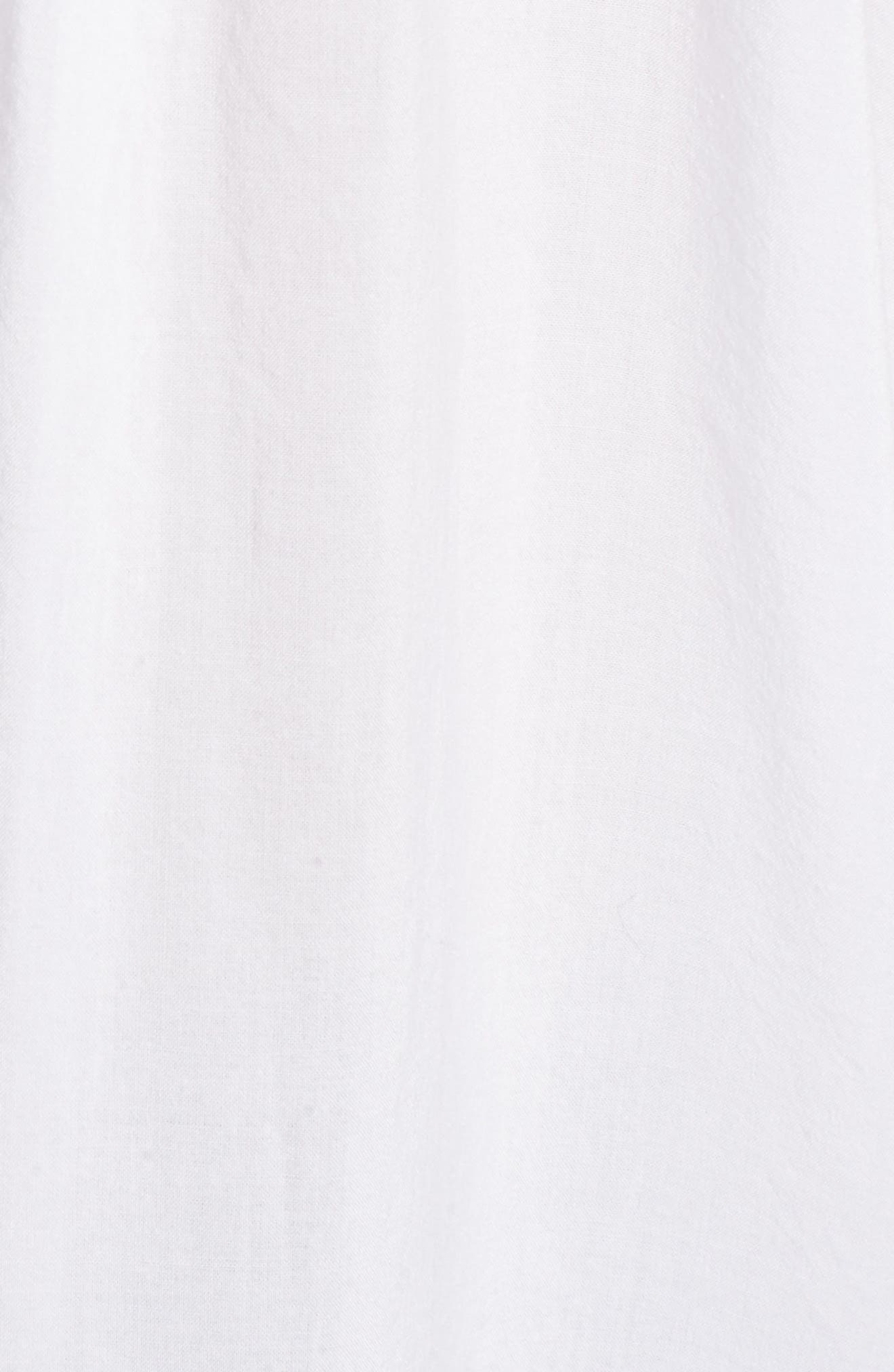 Cotton Blend Voile Blouse,                             Alternate thumbnail 6, color,                             116