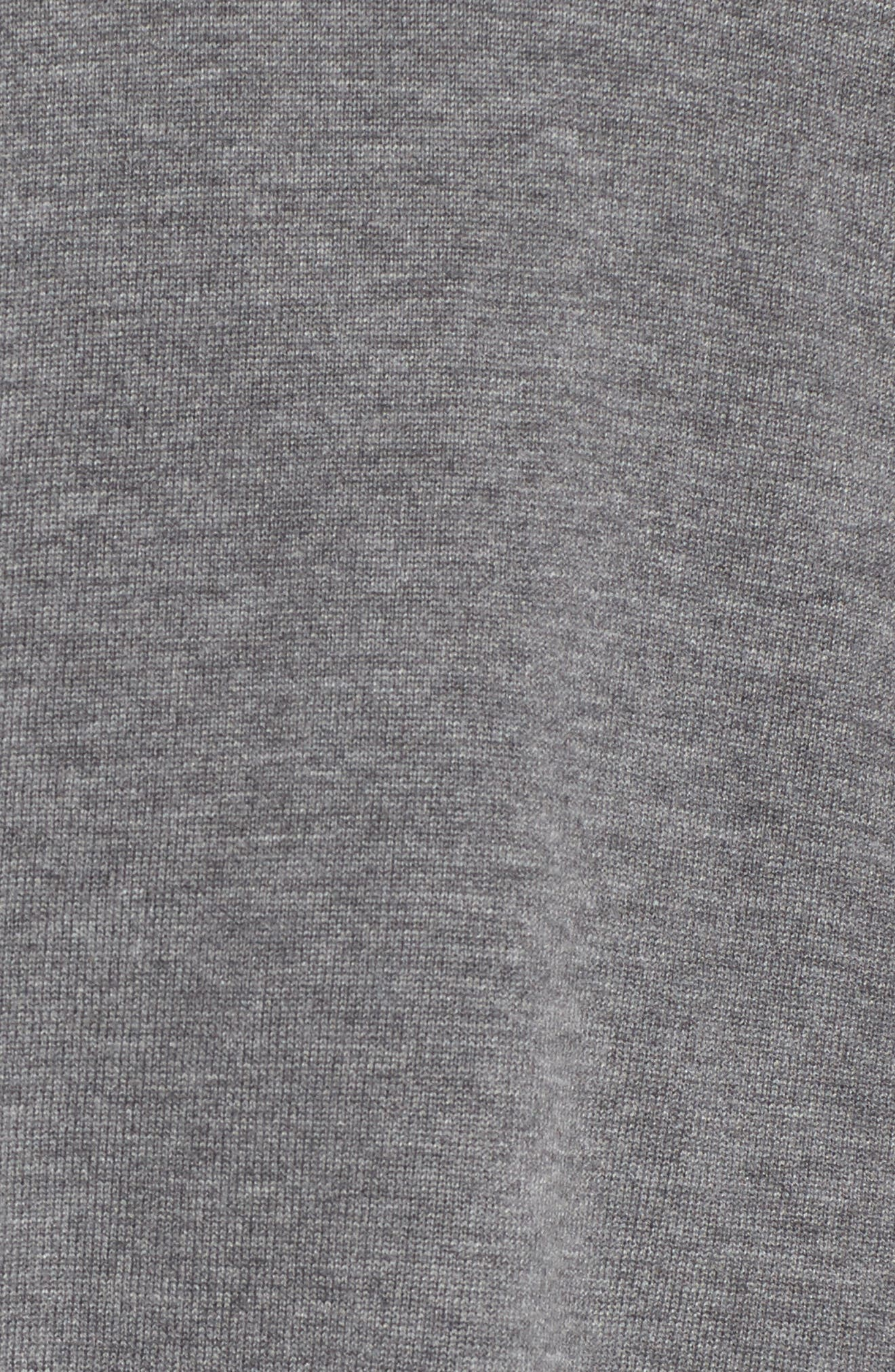 Woven Sleeve Sweater,                             Alternate thumbnail 5, color,                             030