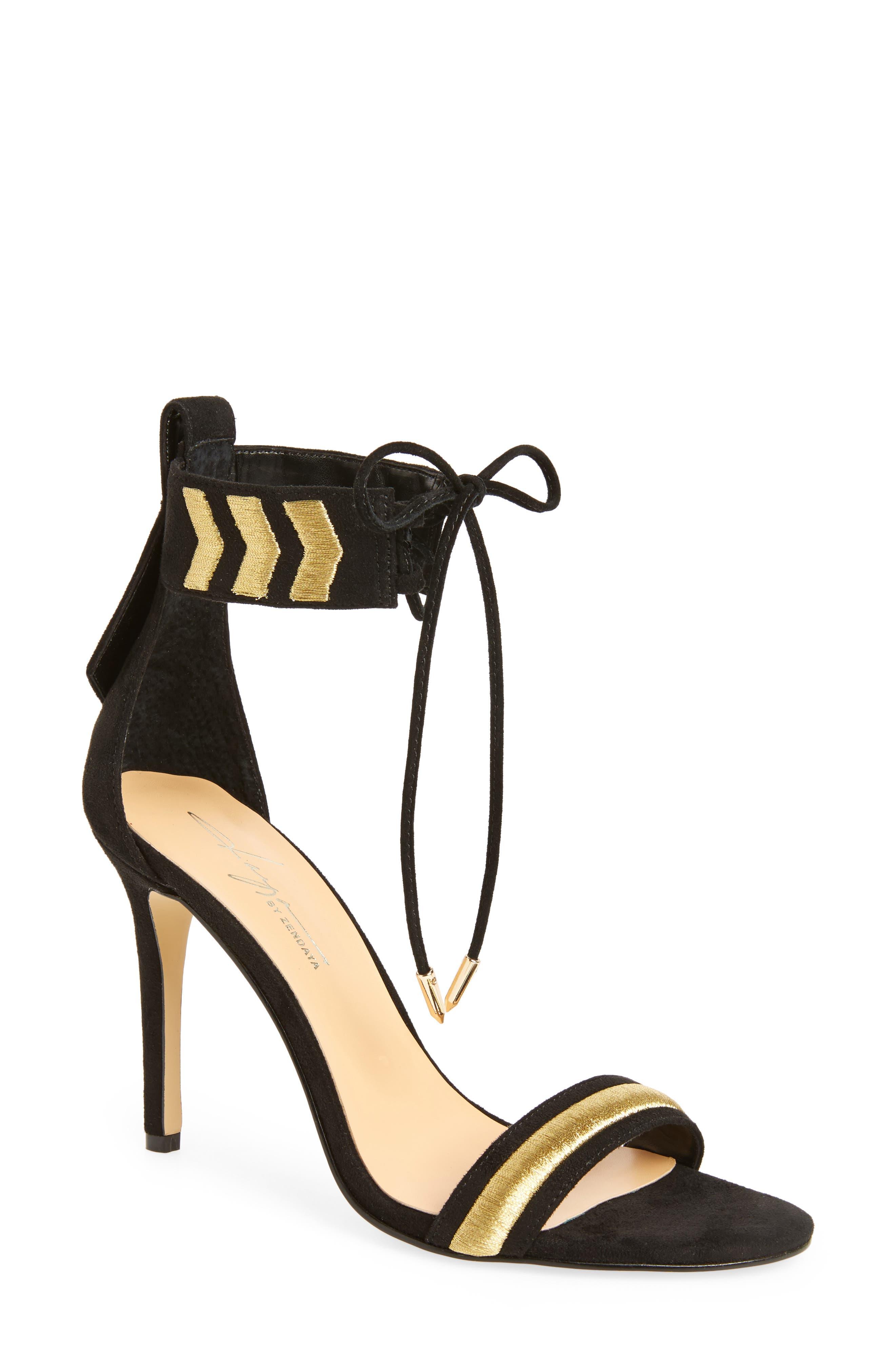 by Zendaya Nola Ankle Cuff Sandal,                         Main,                         color, 005