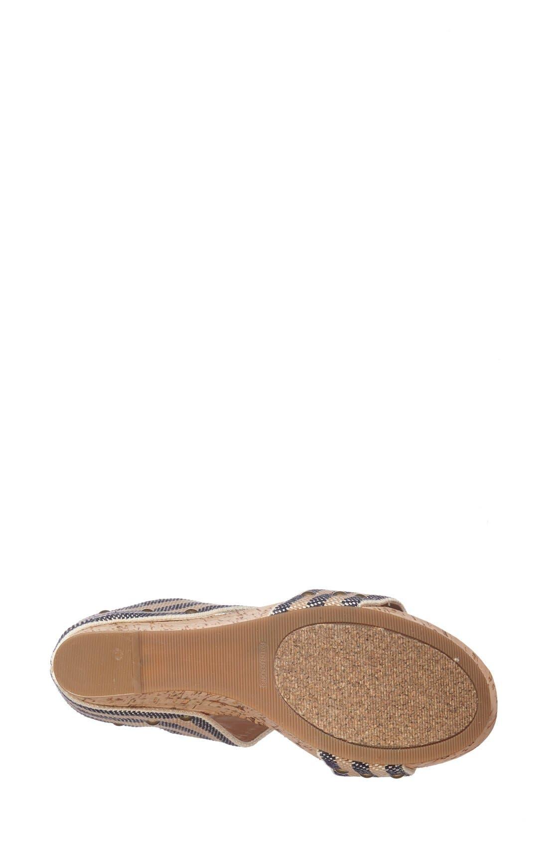 'Emilia 2' Wedge Sandal,                             Alternate thumbnail 8, color,