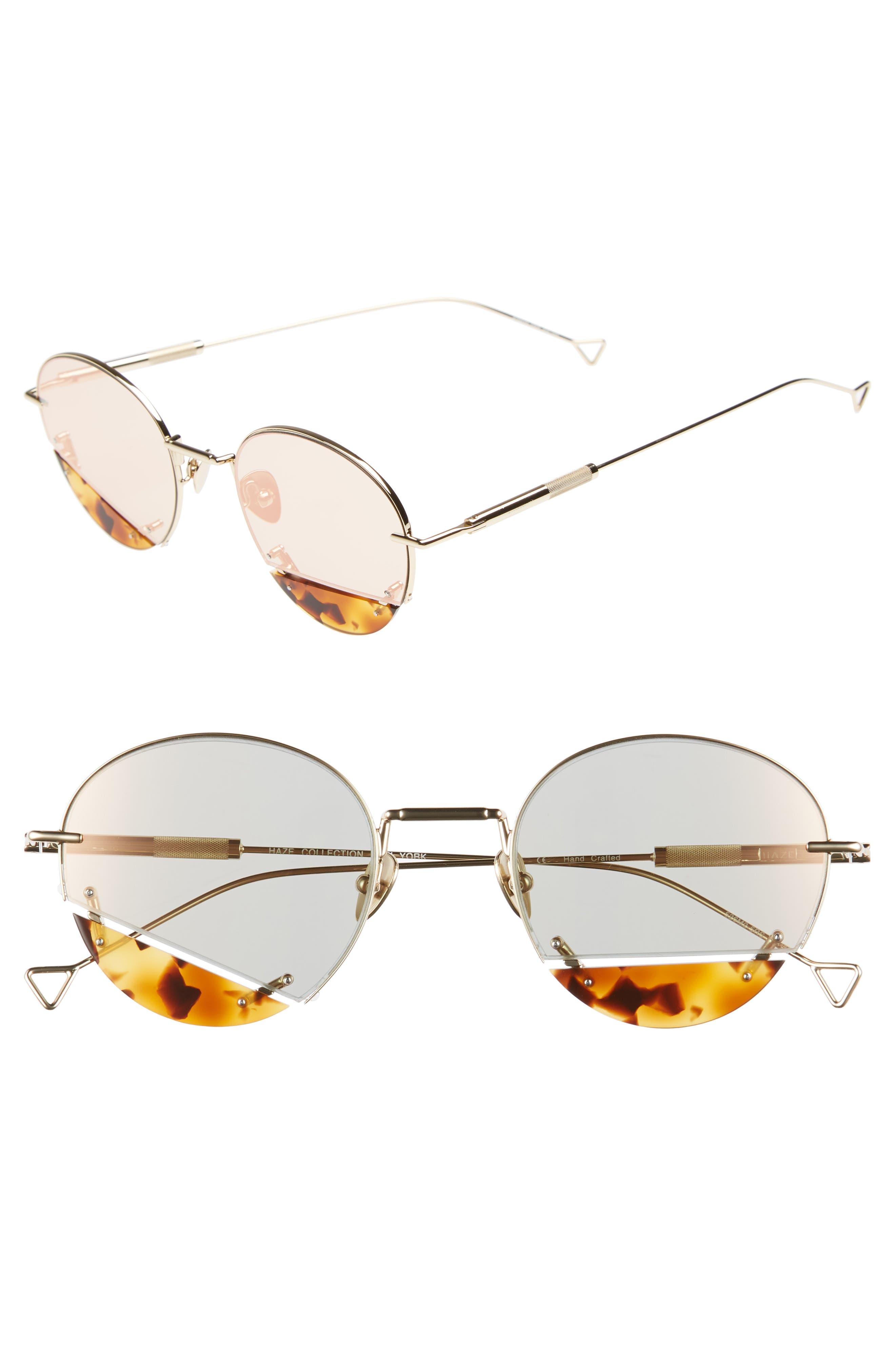 On the Corner 50mm Sunglasses,                         Main,                         color, CHAMPAGNE