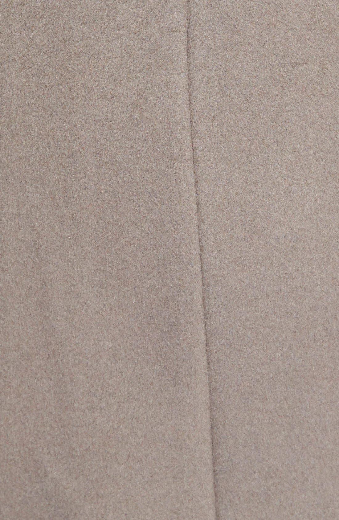 T Tahari Wool Blend Belted Wrap Coat,                             Alternate thumbnail 15, color,