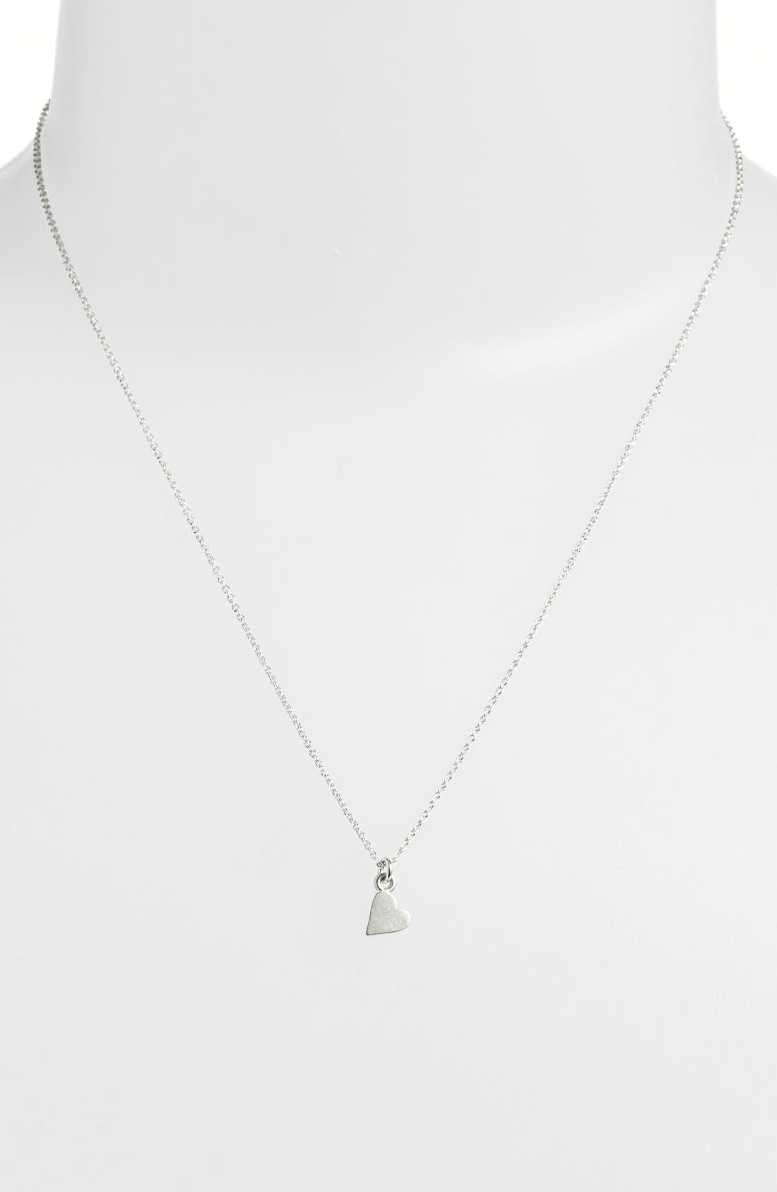 'Mom' Pendant Necklace,                             Alternate thumbnail 3, color,                             040