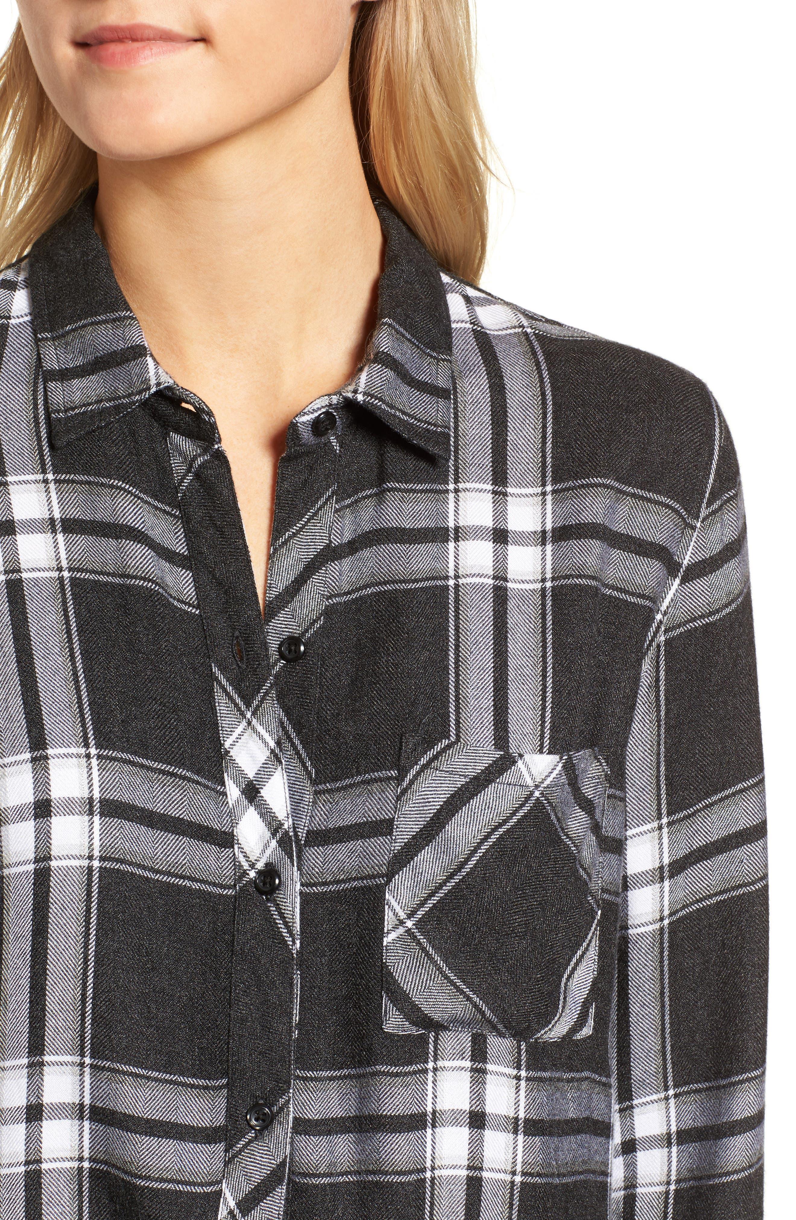 Hunter Plaid Shirt,                             Alternate thumbnail 438, color,