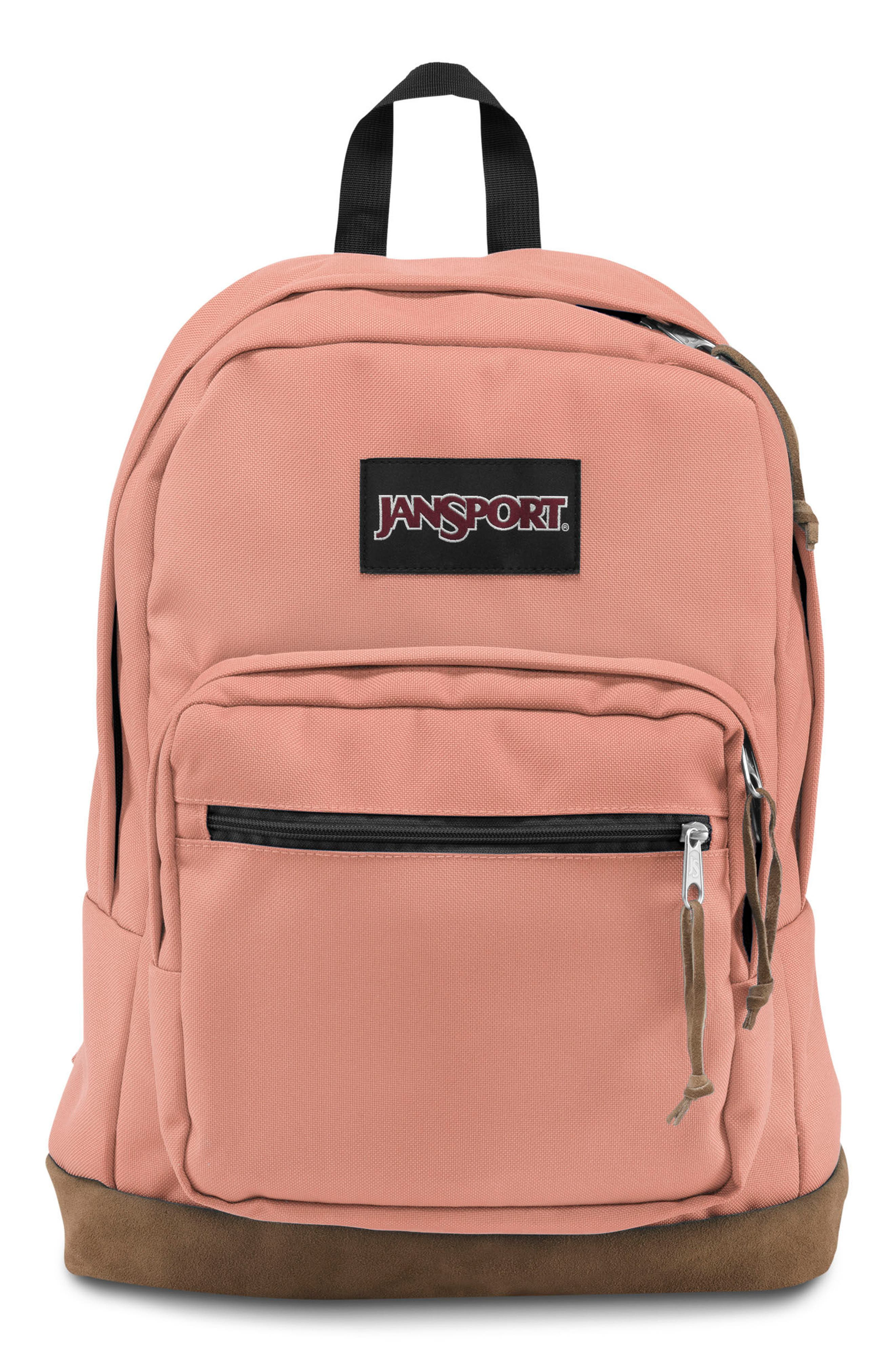 Right Pack Backpack,                         Main,                         color, MUTED CLAY