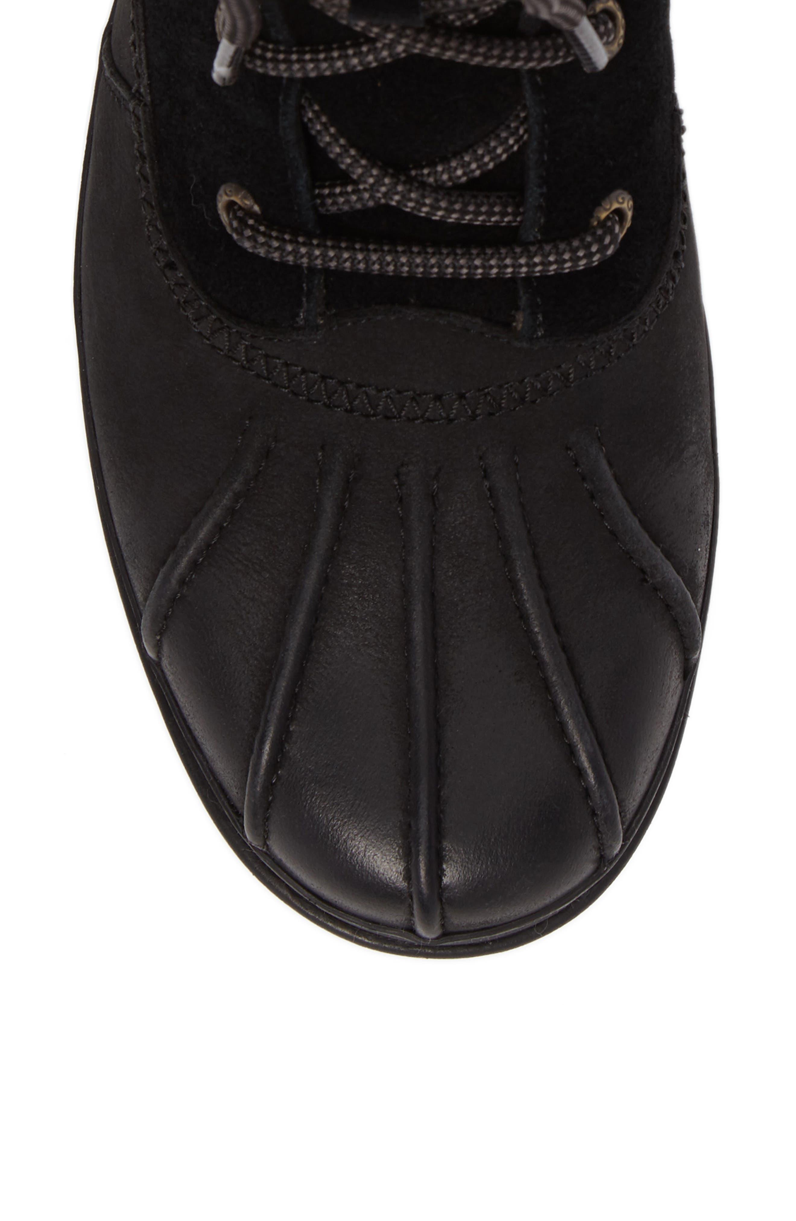 Azaria Waterproof Boot,                             Alternate thumbnail 5, color,                             001