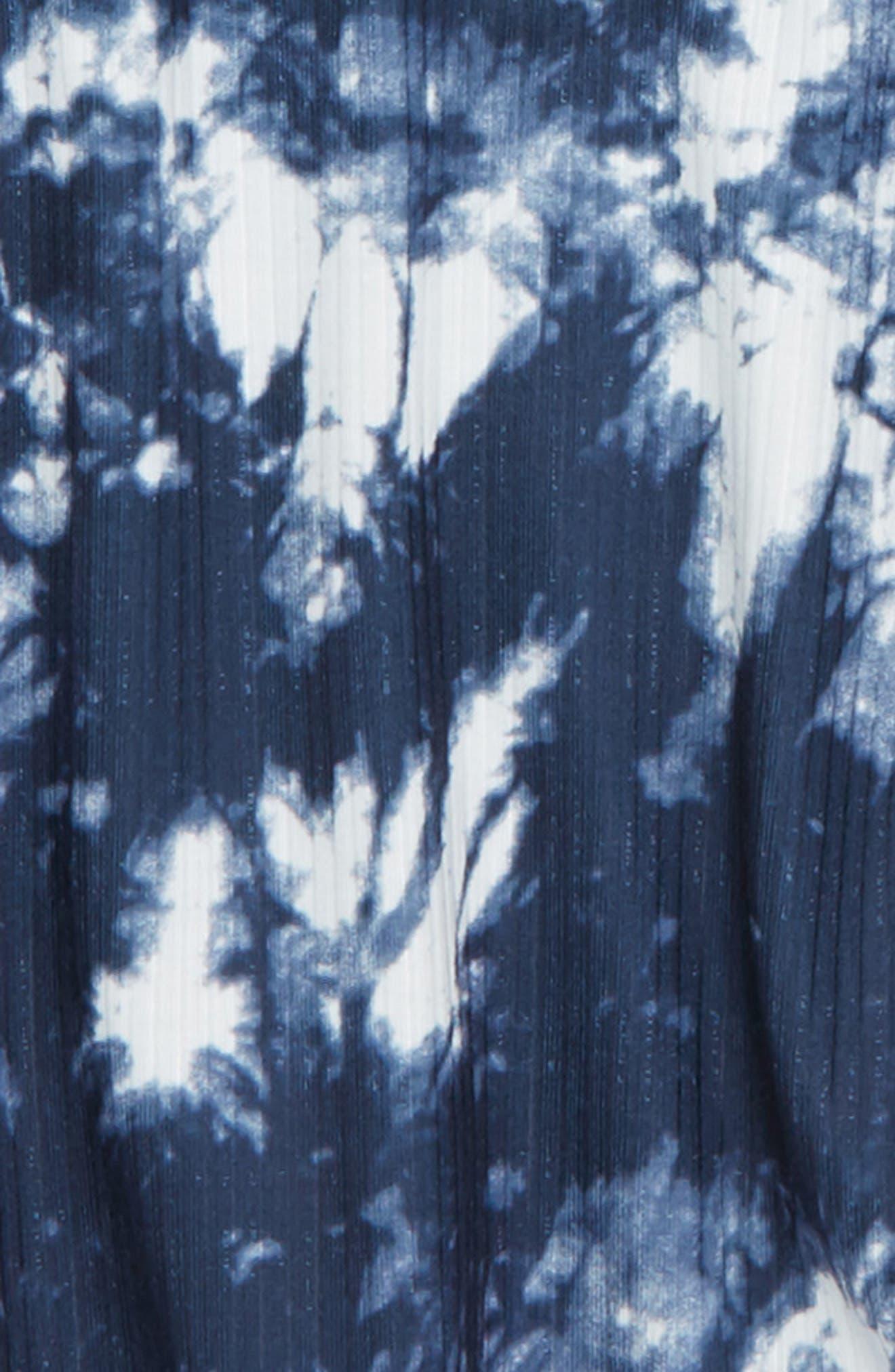 Cold Shoulder Tie Dye Top,                             Alternate thumbnail 2, color,                             414