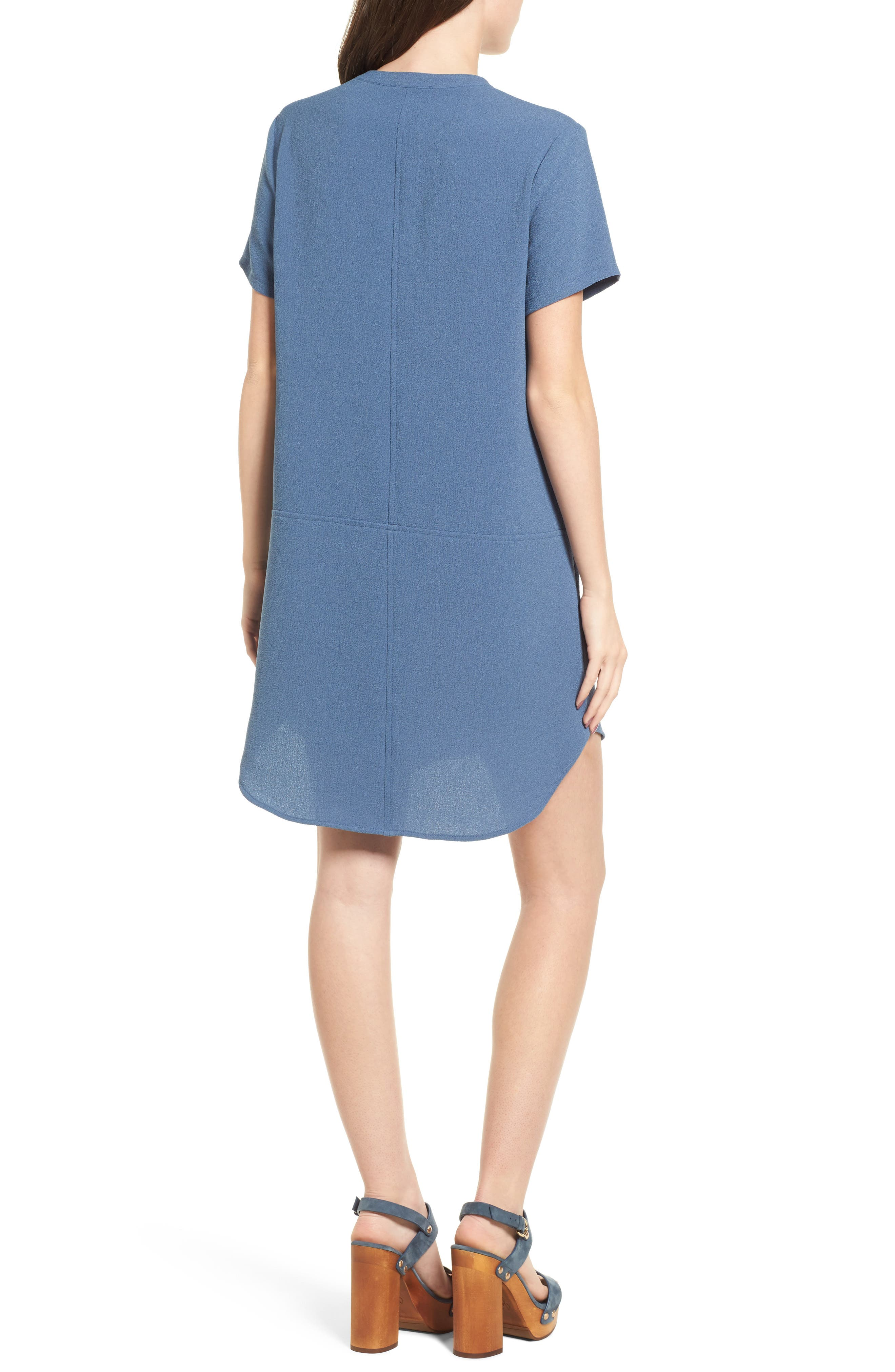 Hailey Crepe Dress,                             Alternate thumbnail 41, color,