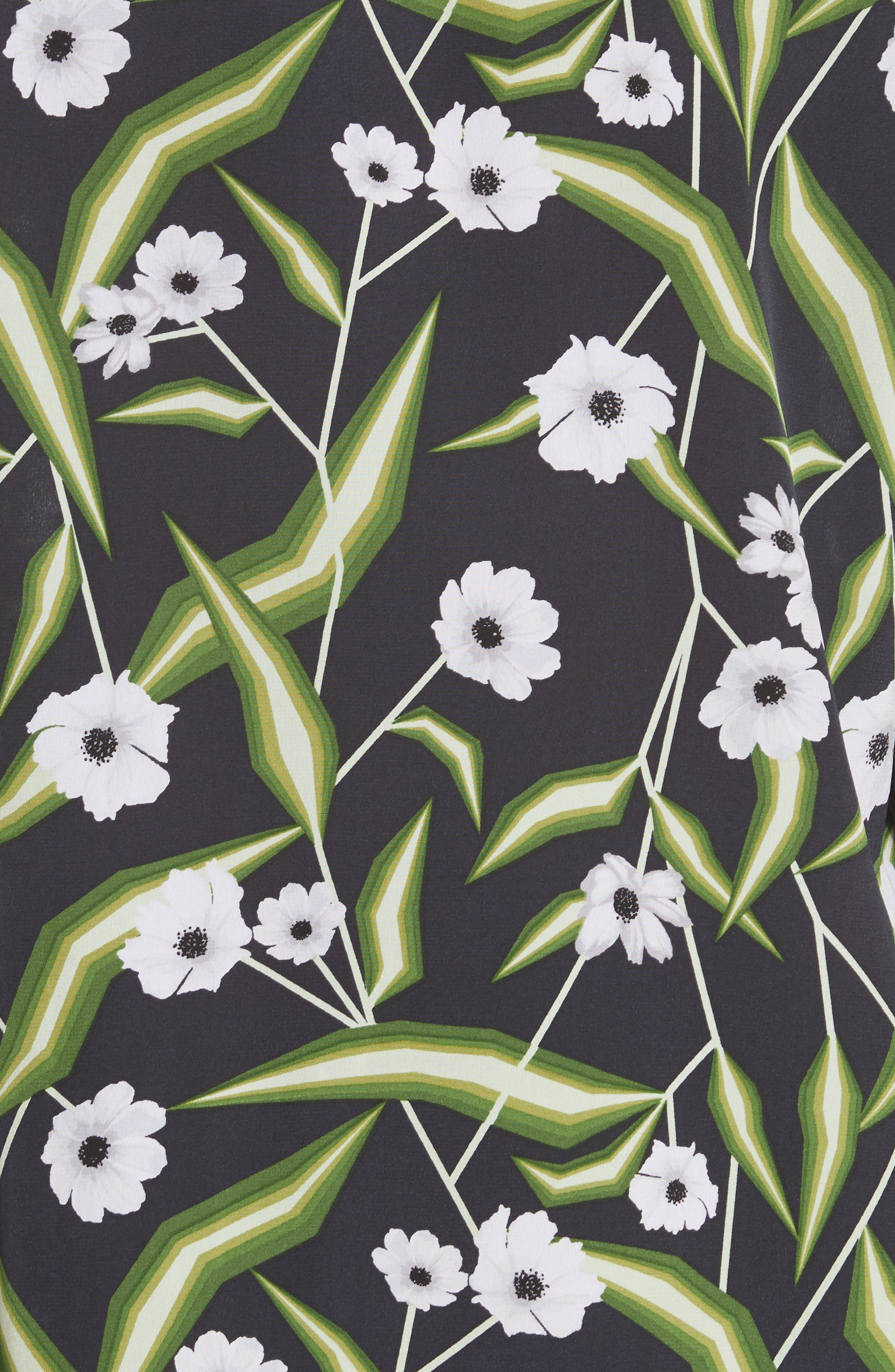 Brett Silk Shirtdress,                             Alternate thumbnail 6, color,                             426