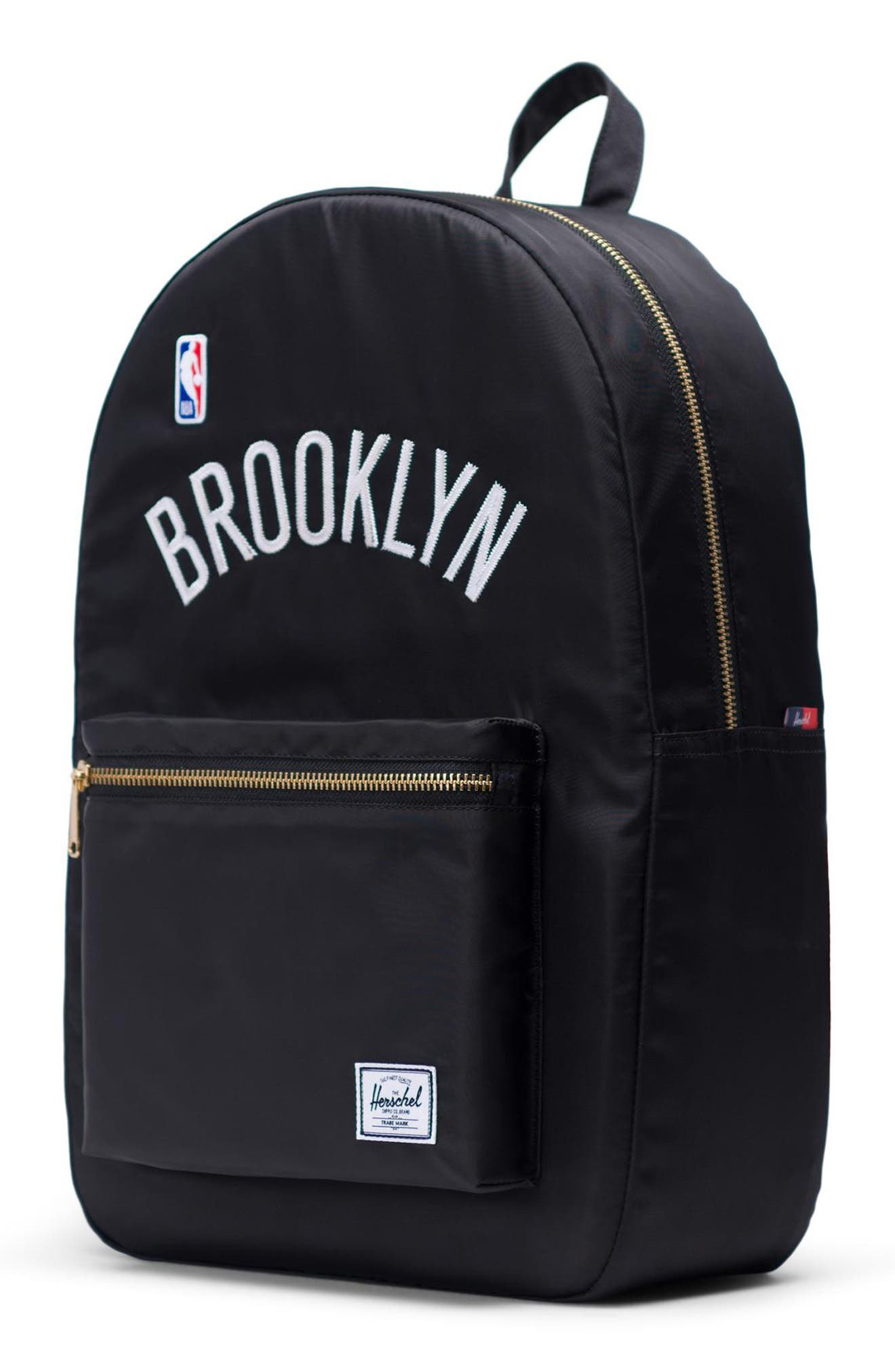 Settlement - NBA Champion Backpack,                             Alternate thumbnail 4, color,                             BROOKLYN NETS
