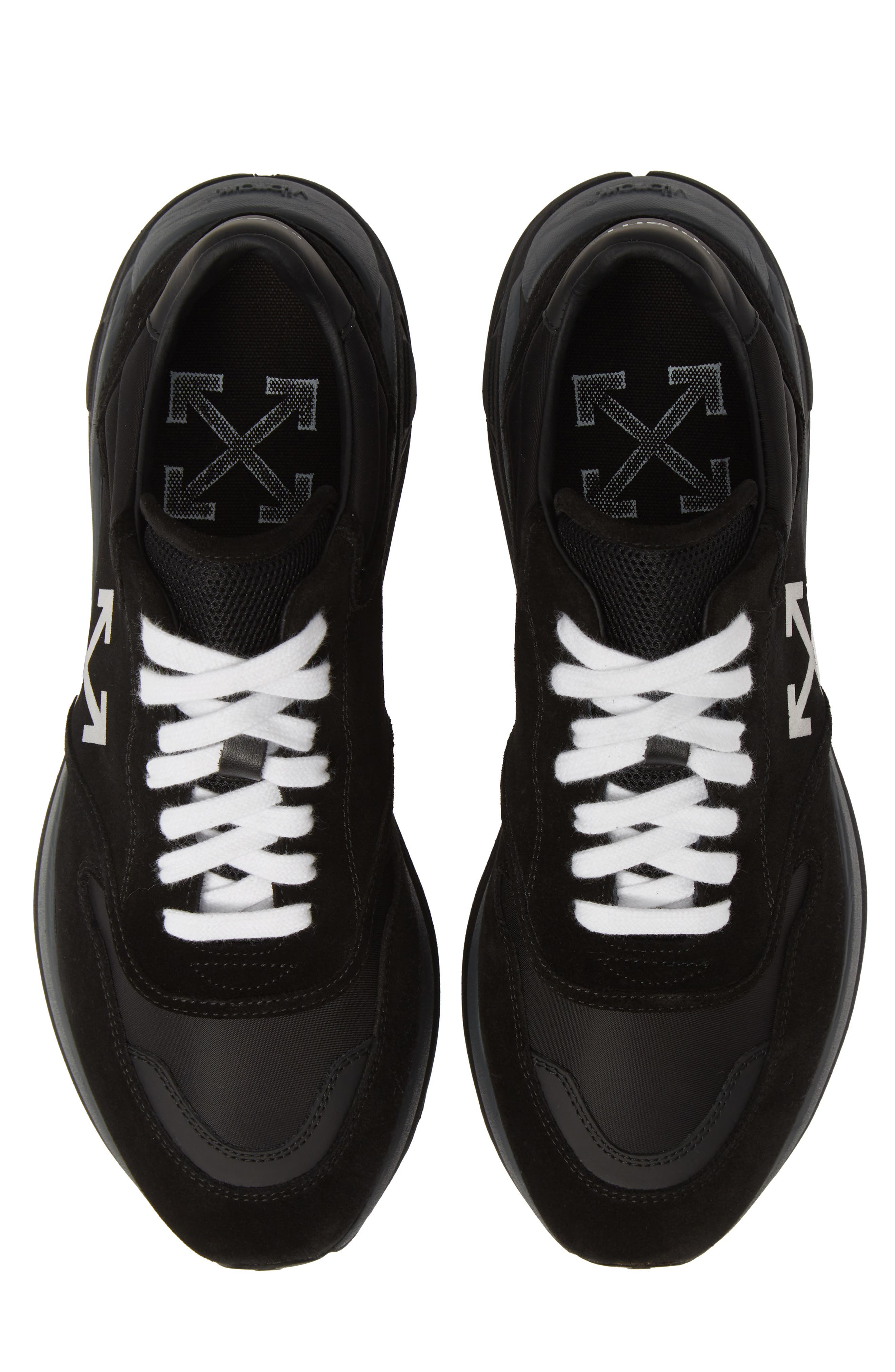 Jogger Sneaker,                             Main thumbnail 1, color,                             BLACK/ WHITE