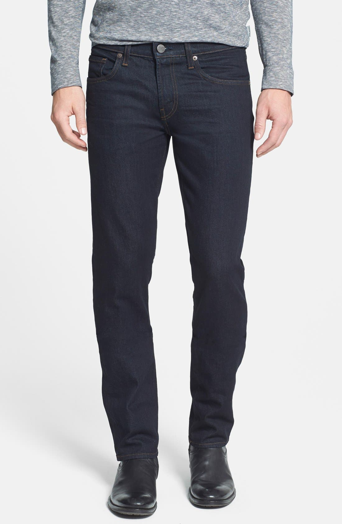'Tyler' Slim Fit Coated Jeans,                             Main thumbnail 1, color,                             412