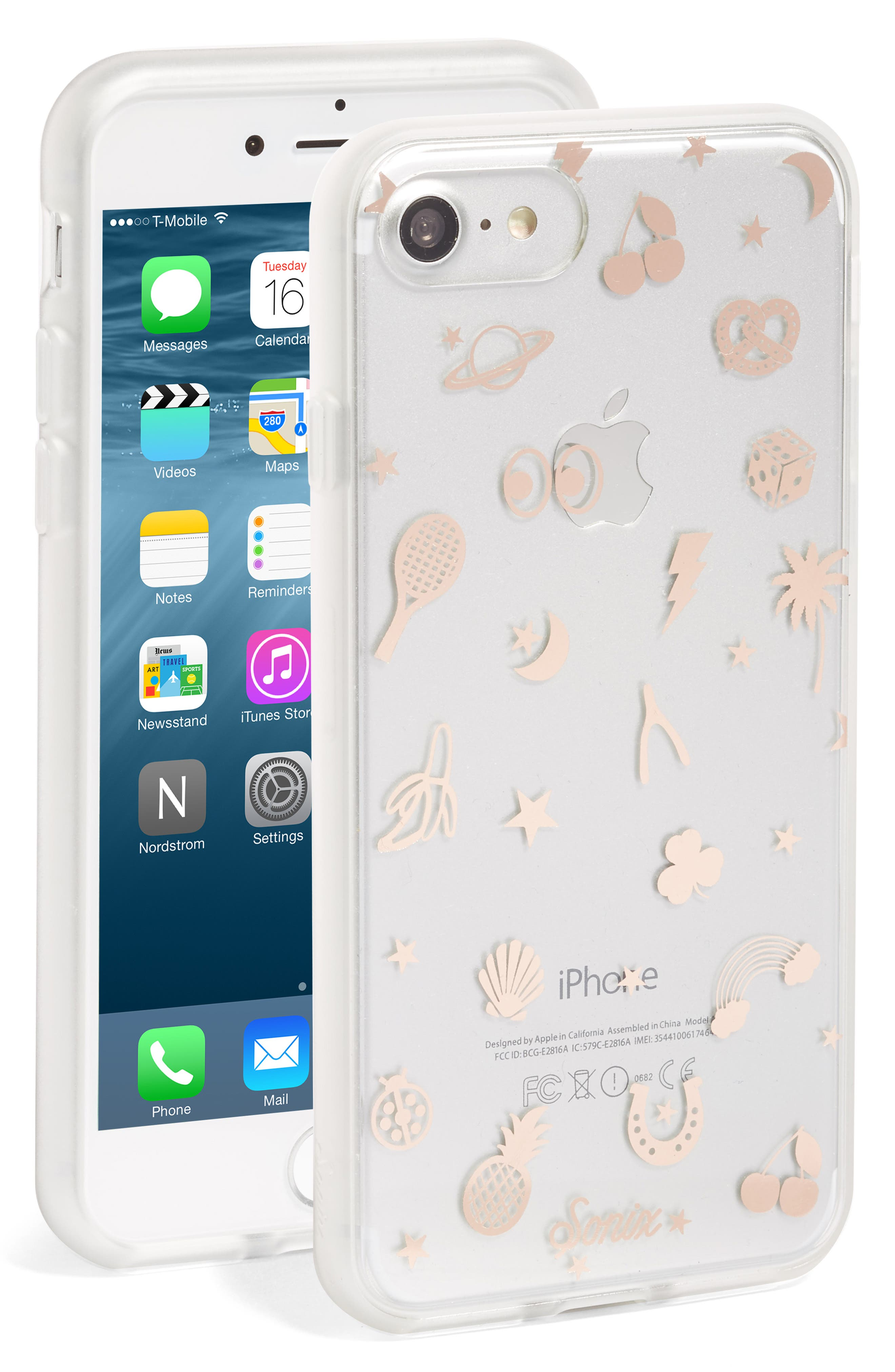 Icon iPhone 6/6s/7/8 Case,                             Alternate thumbnail 2, color,                             710