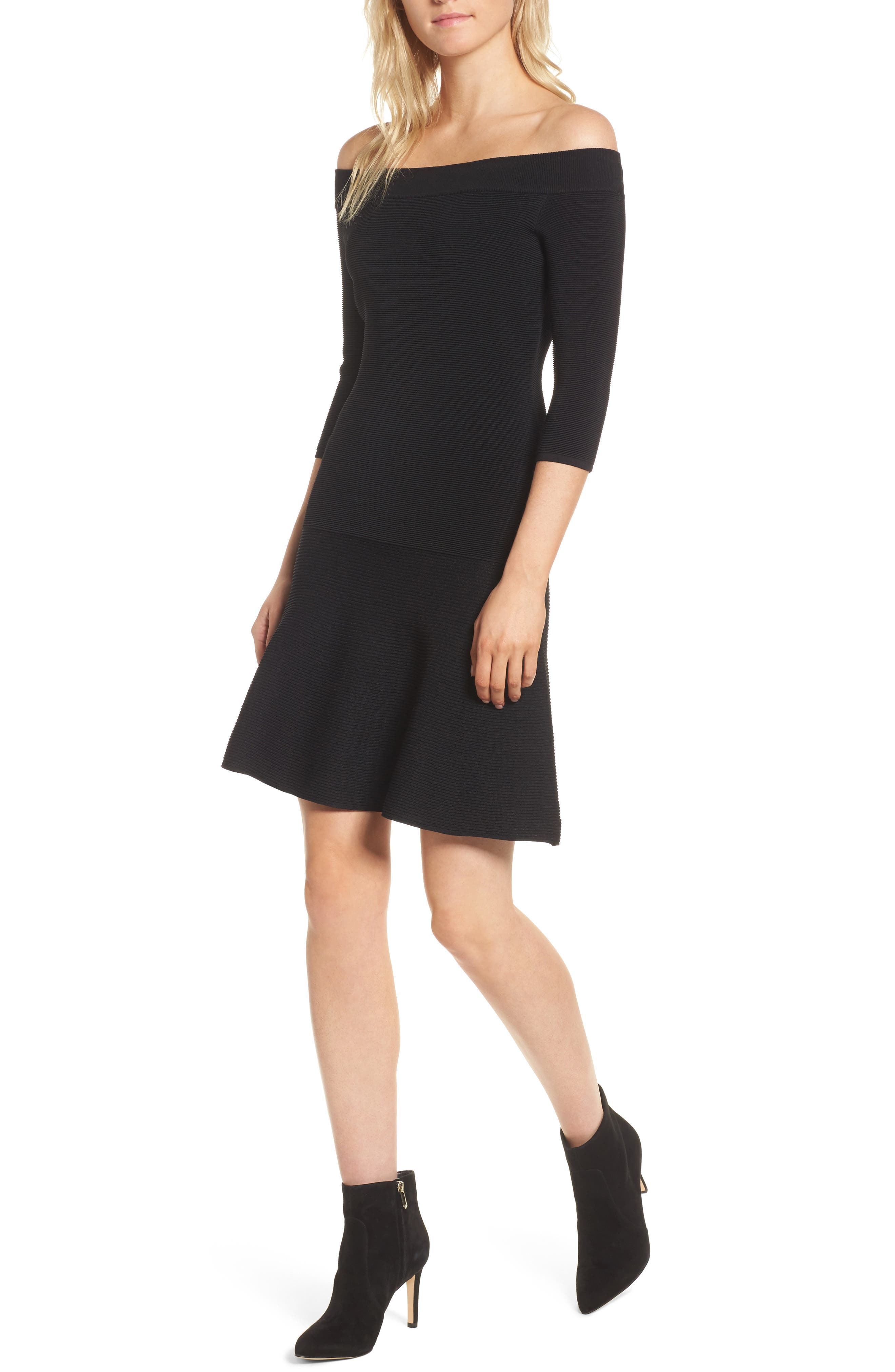 Whitley Off the Shoulder Dress,                         Main,                         color,