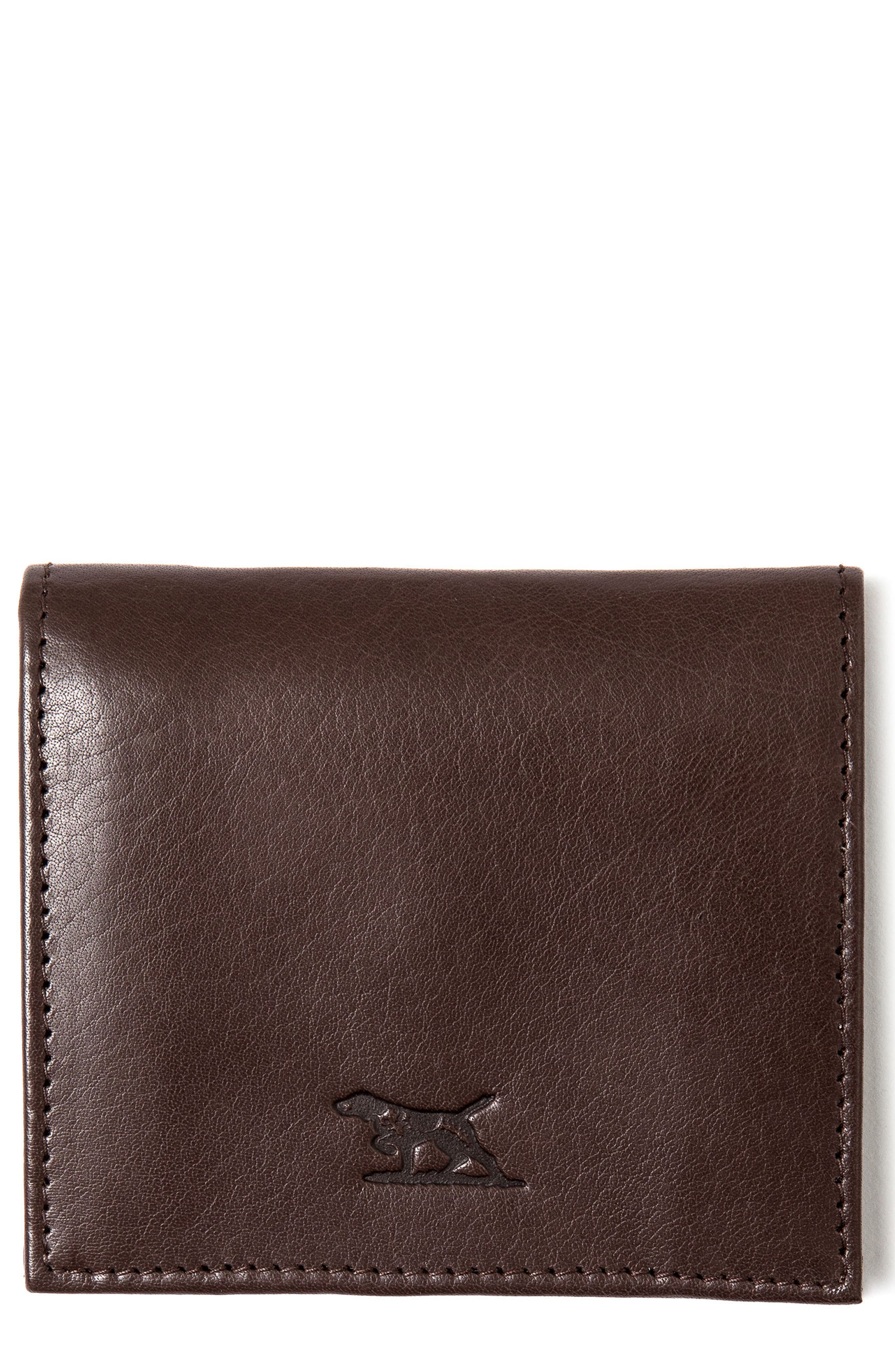 Highbank Station Leather Wallet,                             Main thumbnail 1, color,                             247