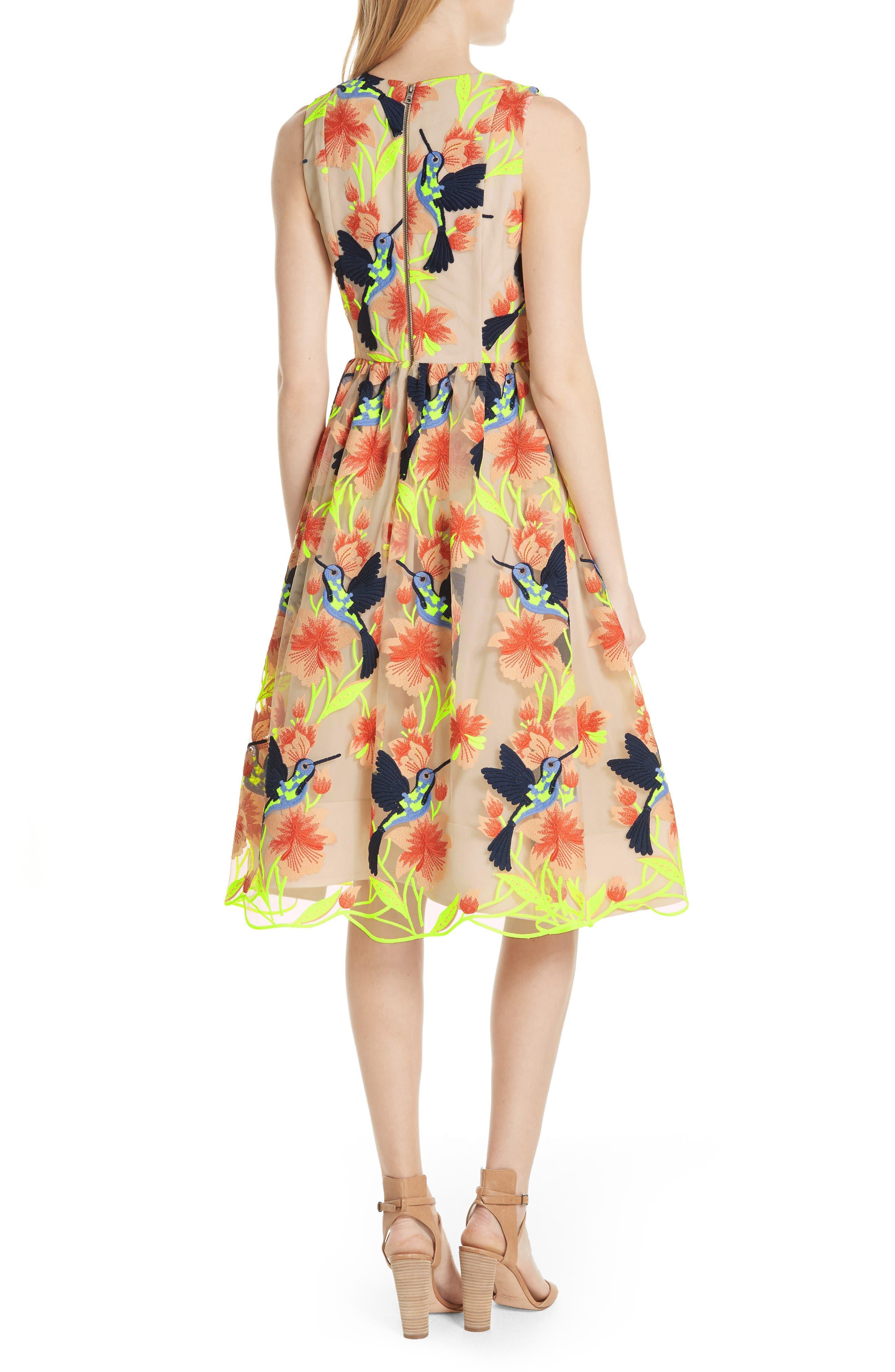 Becca Hummingbird Dress,                             Alternate thumbnail 2, color,                             260