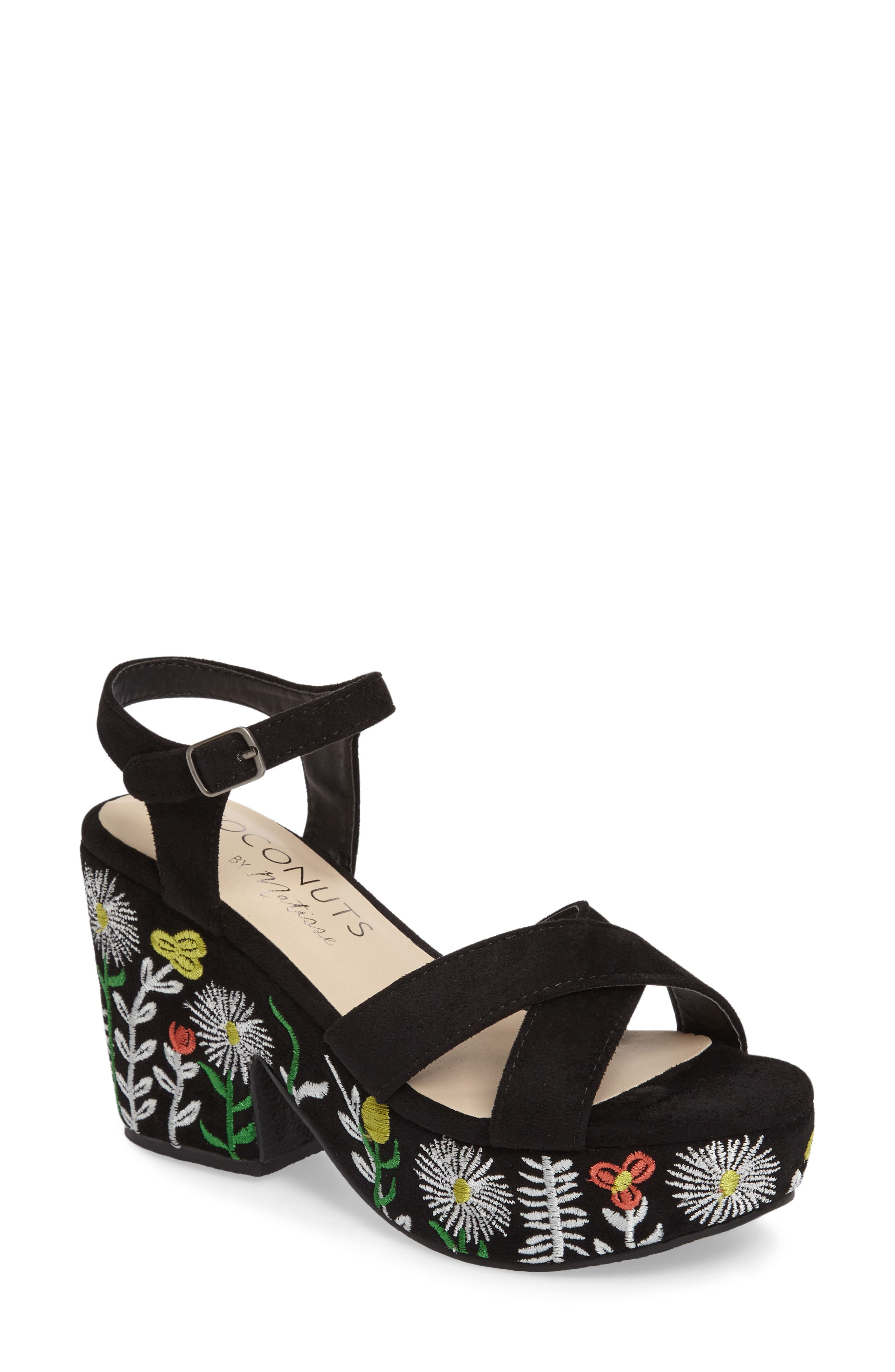 Coconuts by Matisse Fresh Platform Sandal,                             Main thumbnail 1, color,                             006