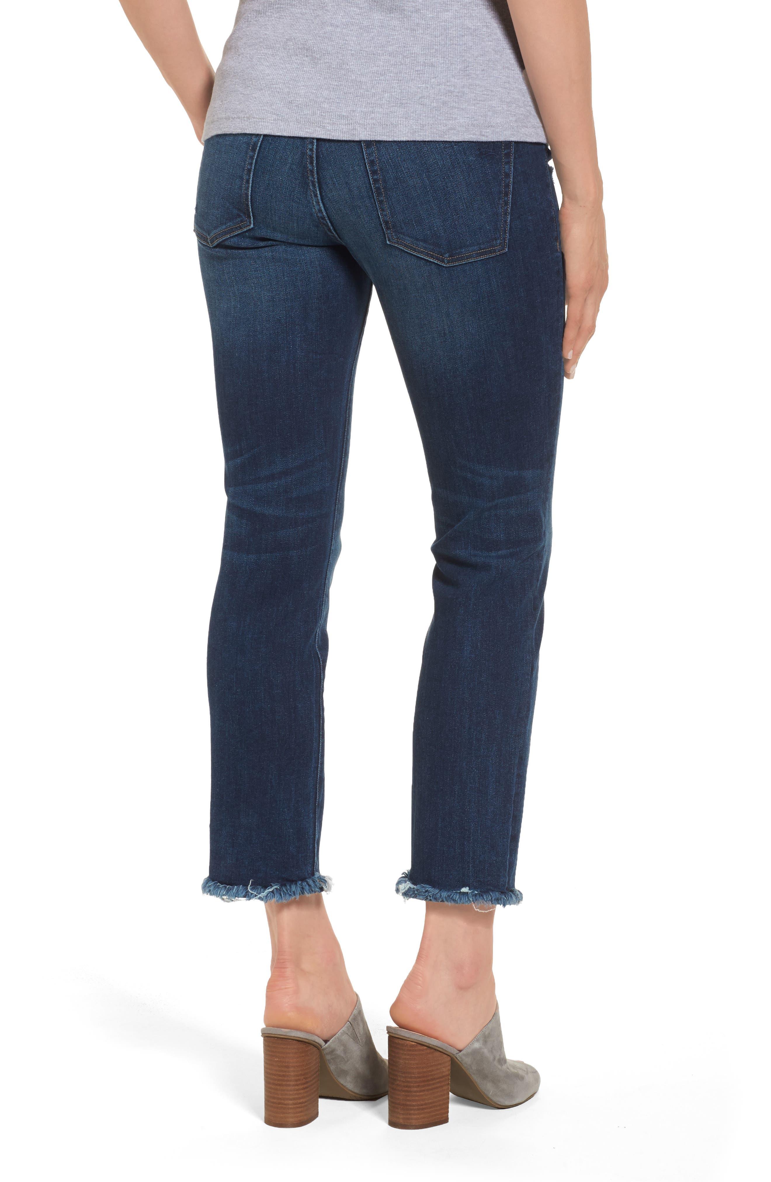 Mara Maternity Ankle Jeans,                             Alternate thumbnail 2, color,                             405