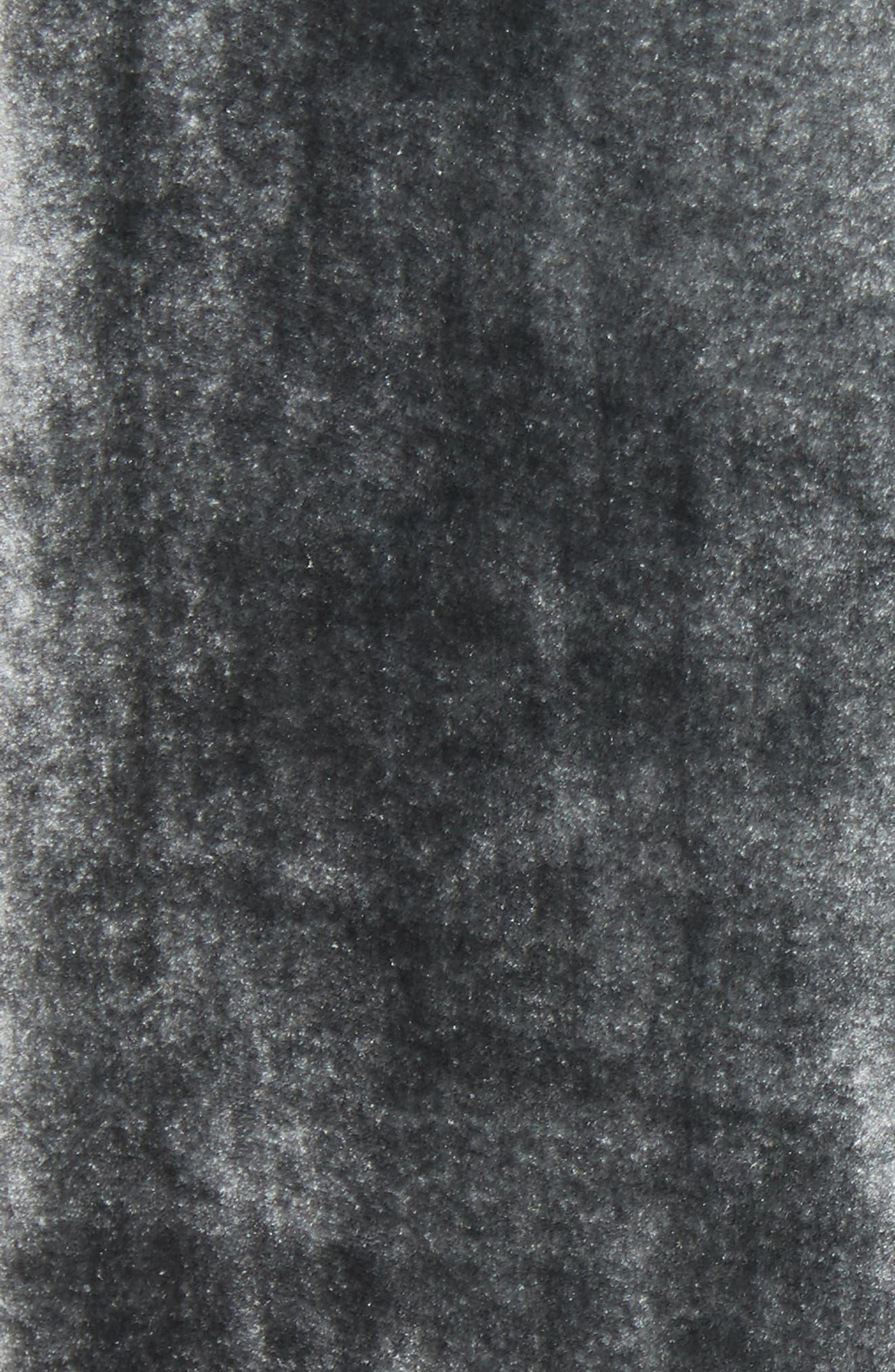 Velvet Slipdress,                             Alternate thumbnail 5, color,                             024