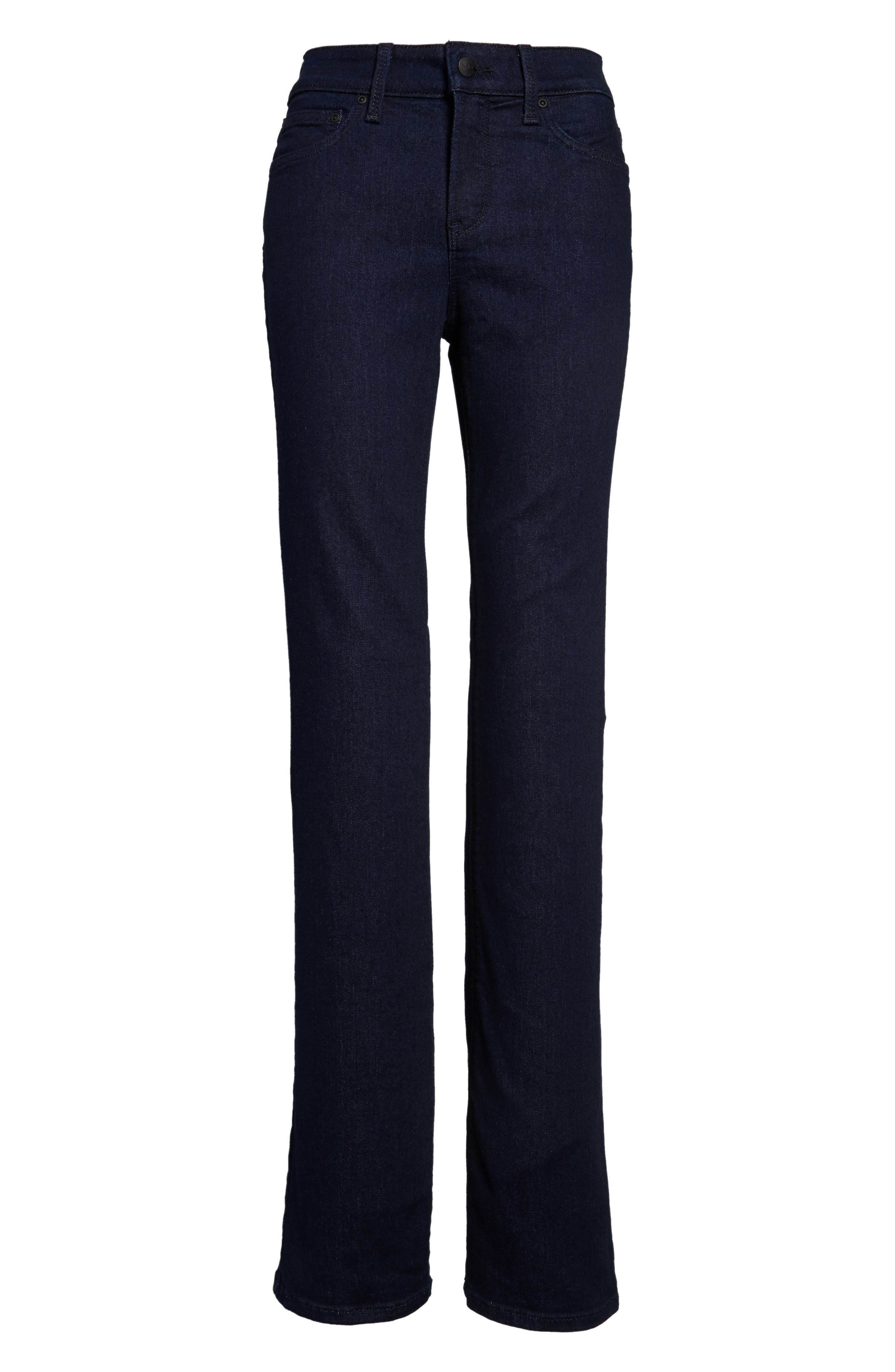 Barbara High Waist Stretch Bootcut Jeans,                             Alternate thumbnail 4, color,                             RINSE