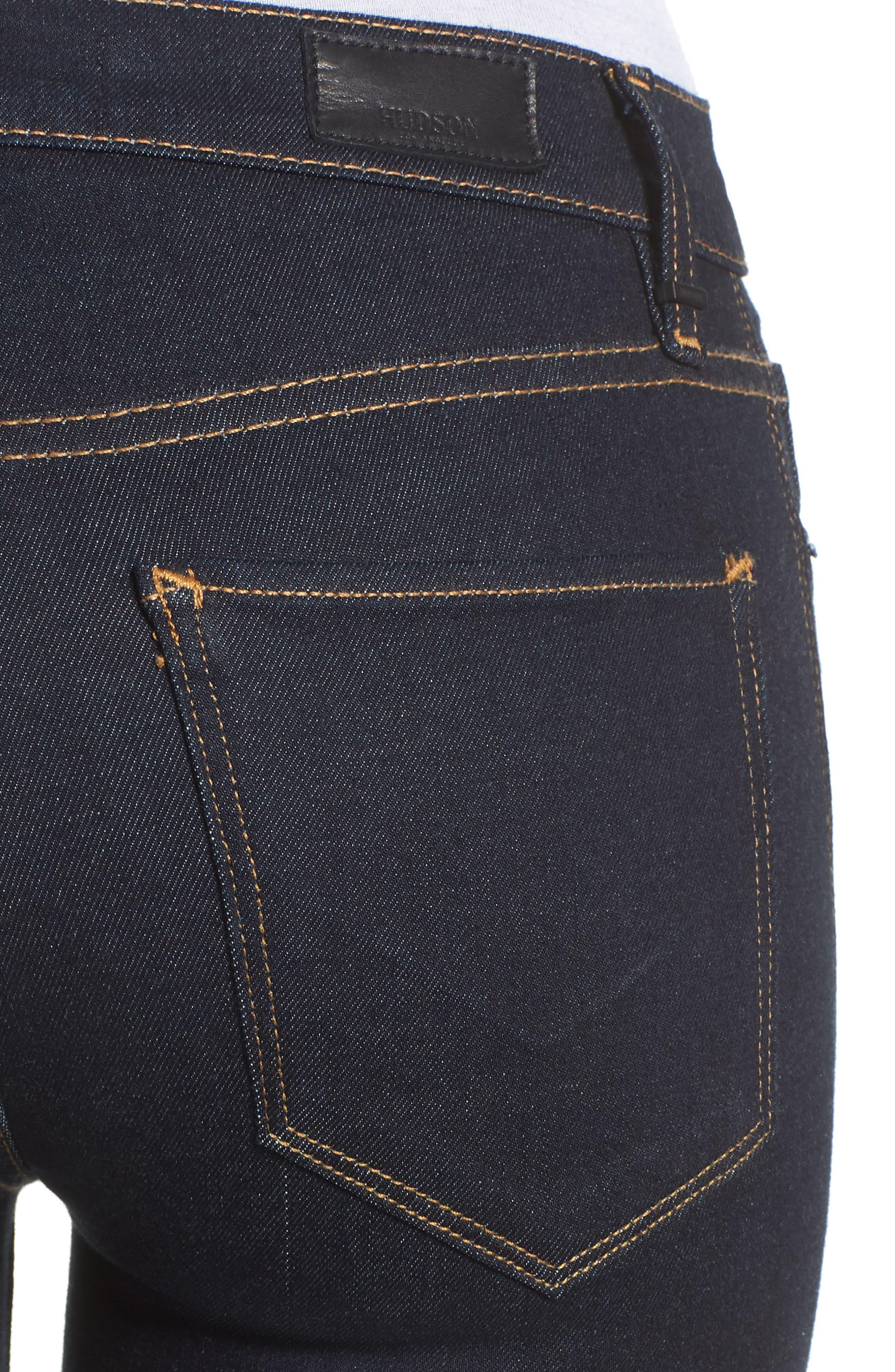 Nico Super Skinny Jeans,                             Alternate thumbnail 4, color,                             SUNSET BLVD