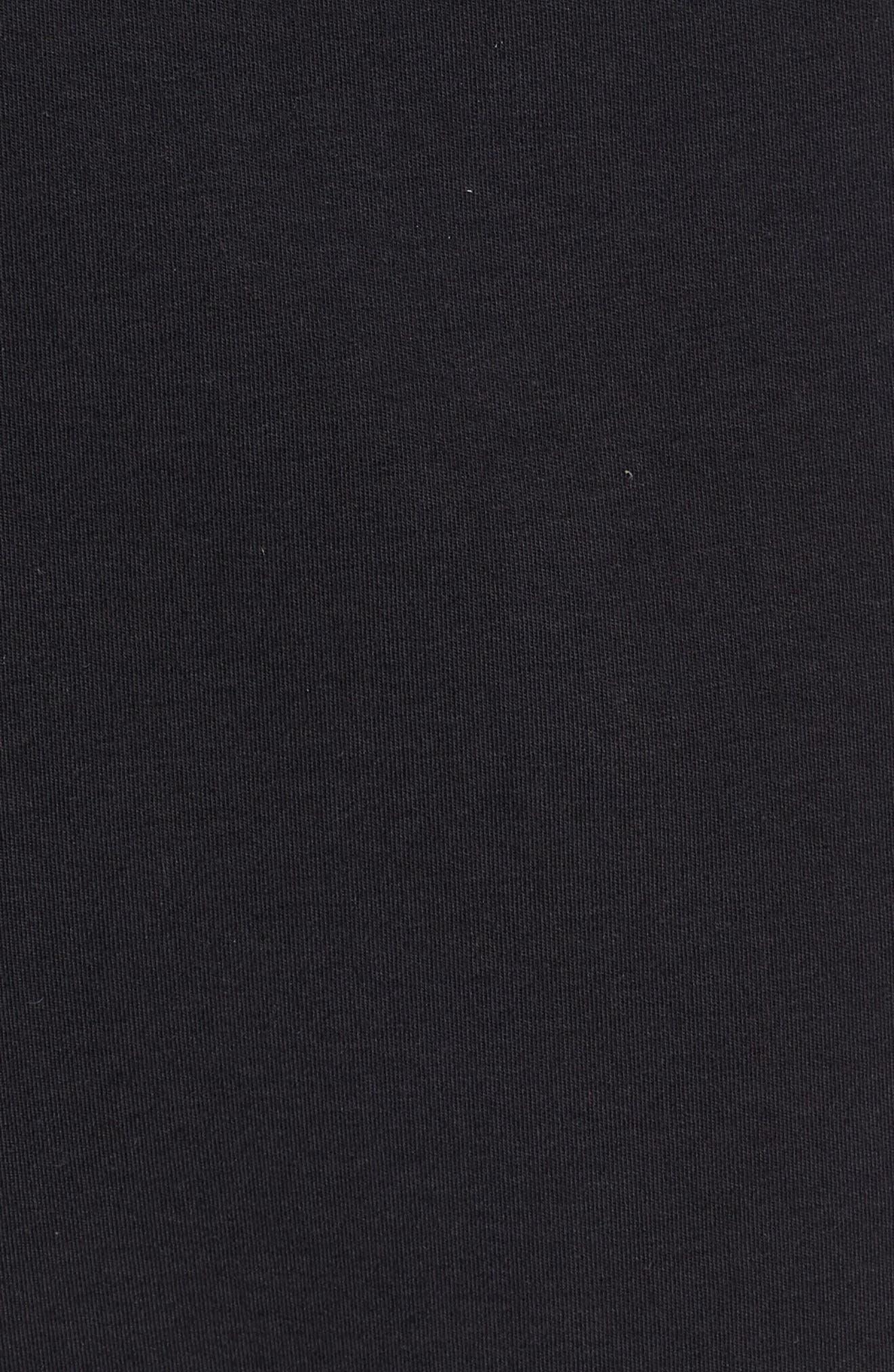 Tech Knit Jogger Pants,                             Alternate thumbnail 5, color,                             BLACK/ BLACK