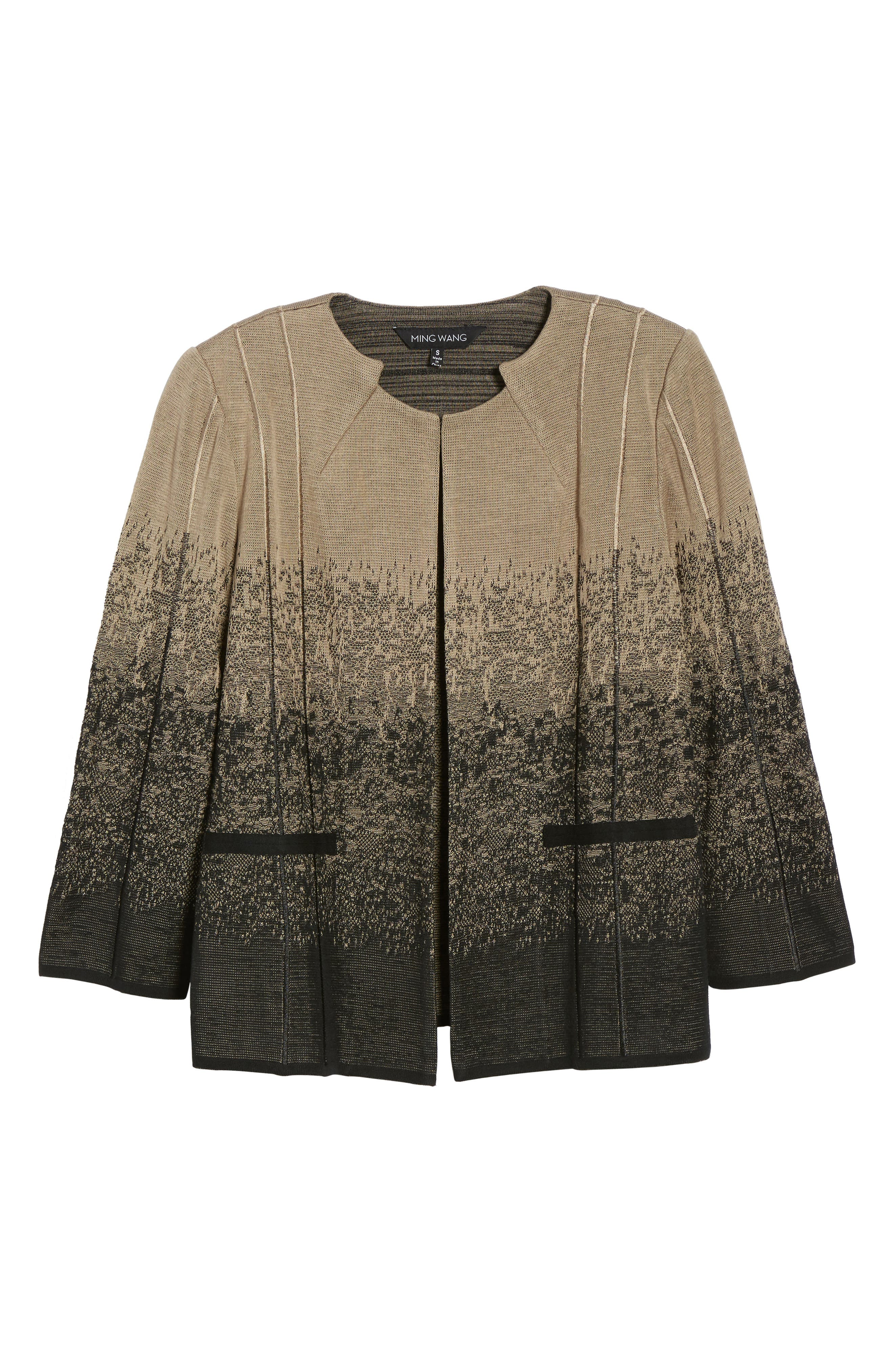 Jacquard Knit Jacket,                             Alternate thumbnail 5, color,                             250