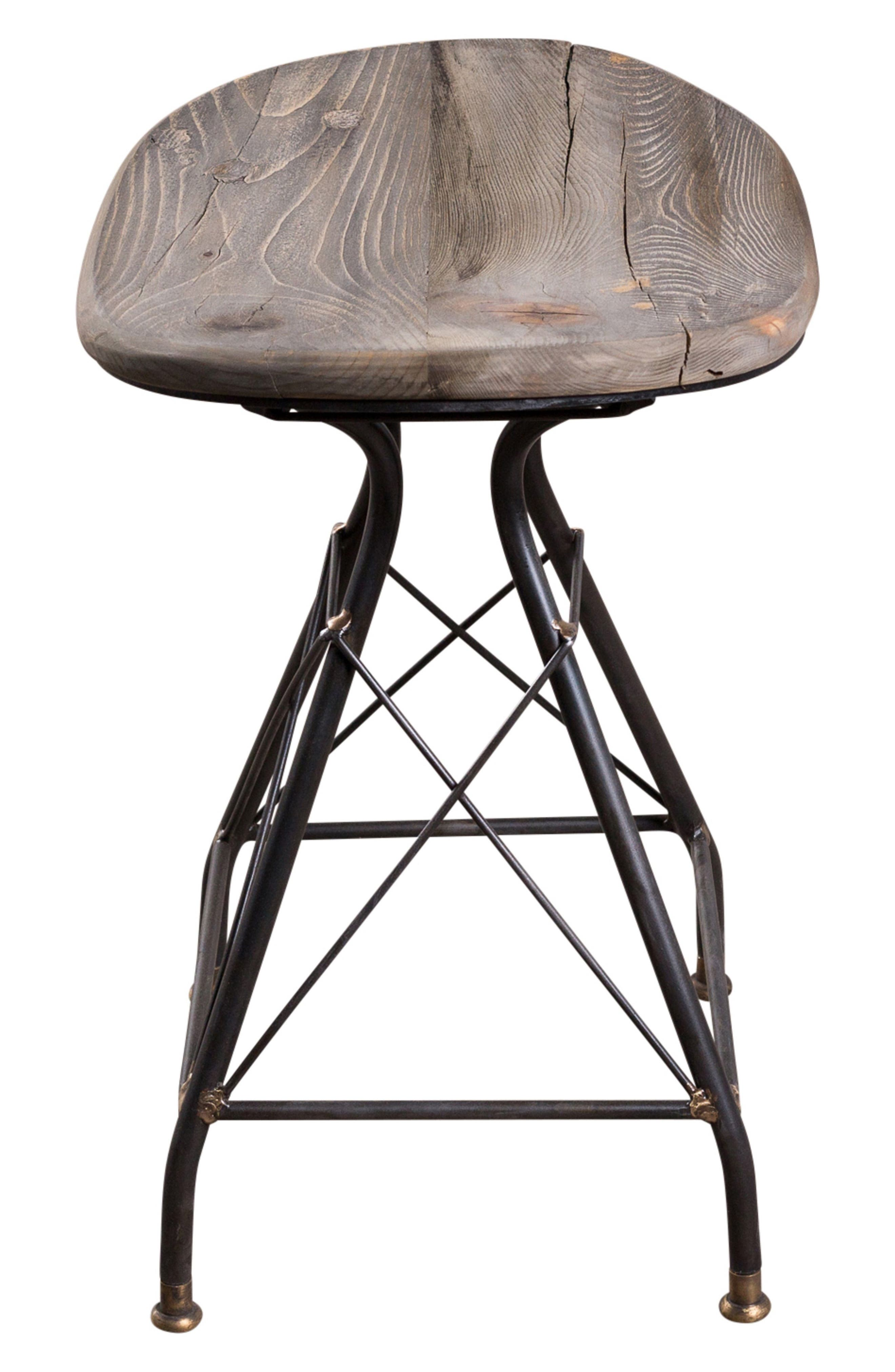 Goa Stool,                             Alternate thumbnail 4, color,                             SMOKY PINE