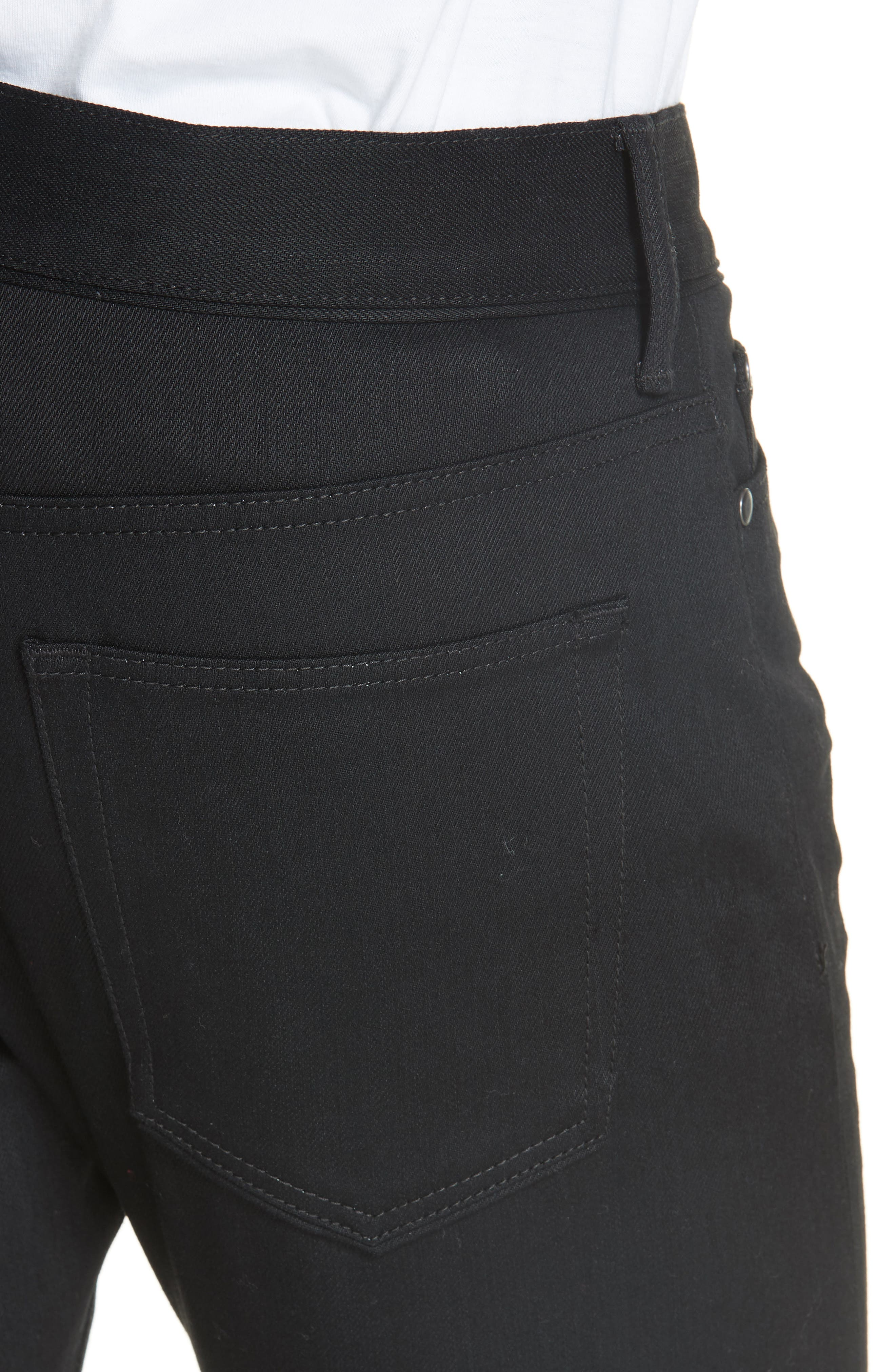 The Cast 2 Skinny Fit Jeans,                             Alternate thumbnail 4, color,                             OBSIDIAN