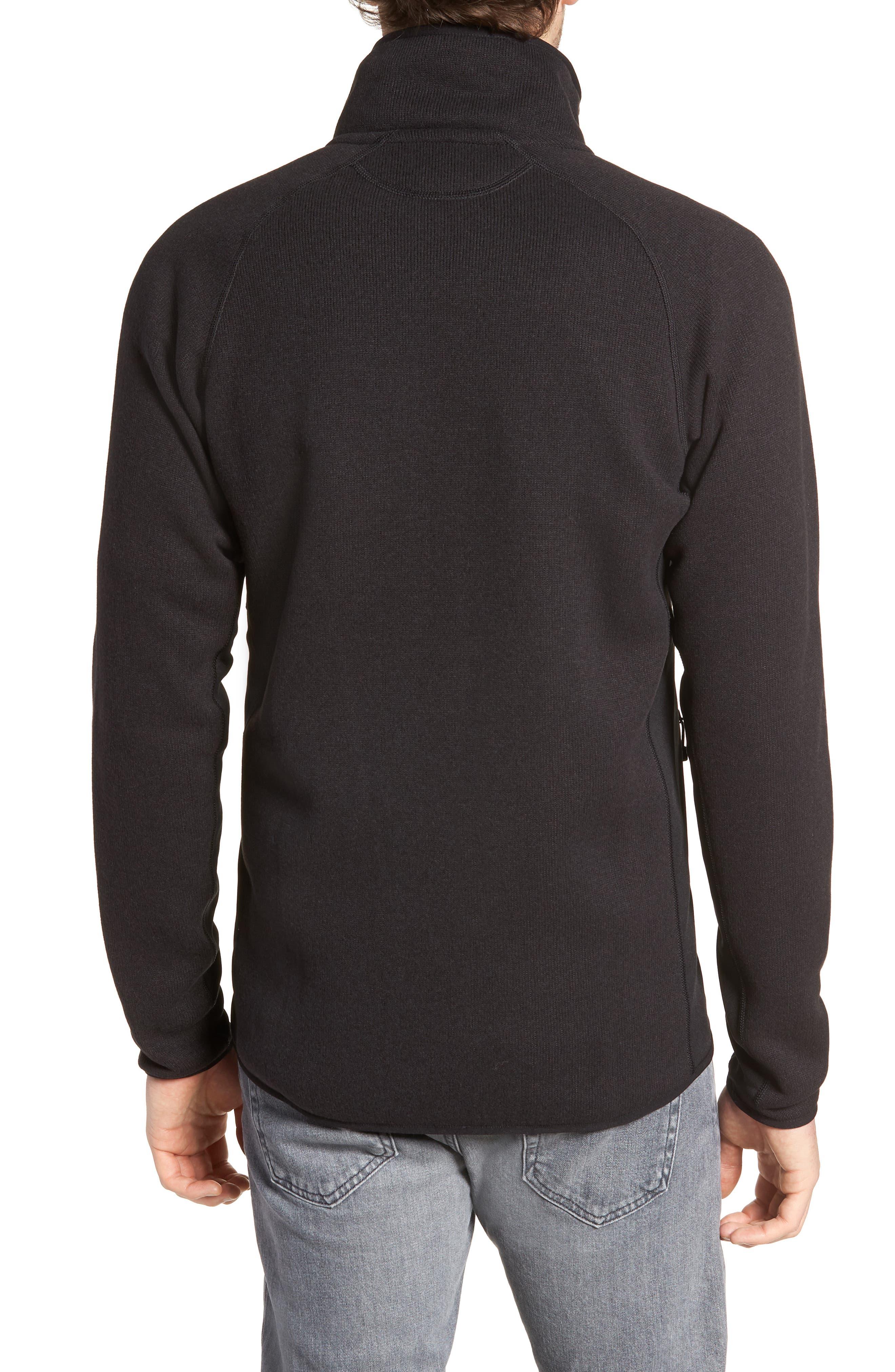 Better Sweater<sup>®</sup> Performance Slim Fit Zip Jacket,                             Alternate thumbnail 2, color,                             BLK