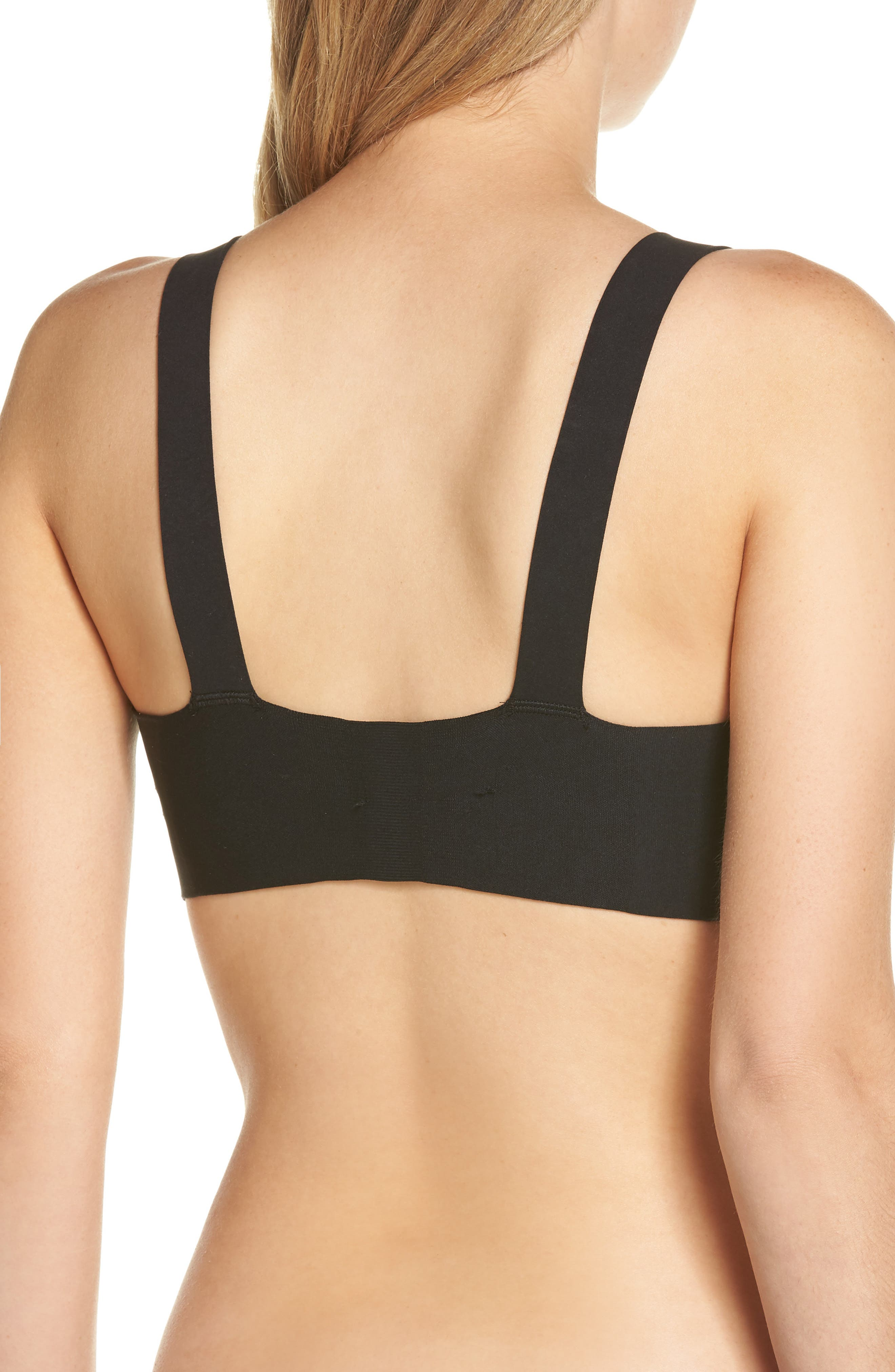 SPANX<SUP>®</SUP>,                             Brallelujah Unlined Underwire Bra,                             Alternate thumbnail 2, color,                             VERY BLACK