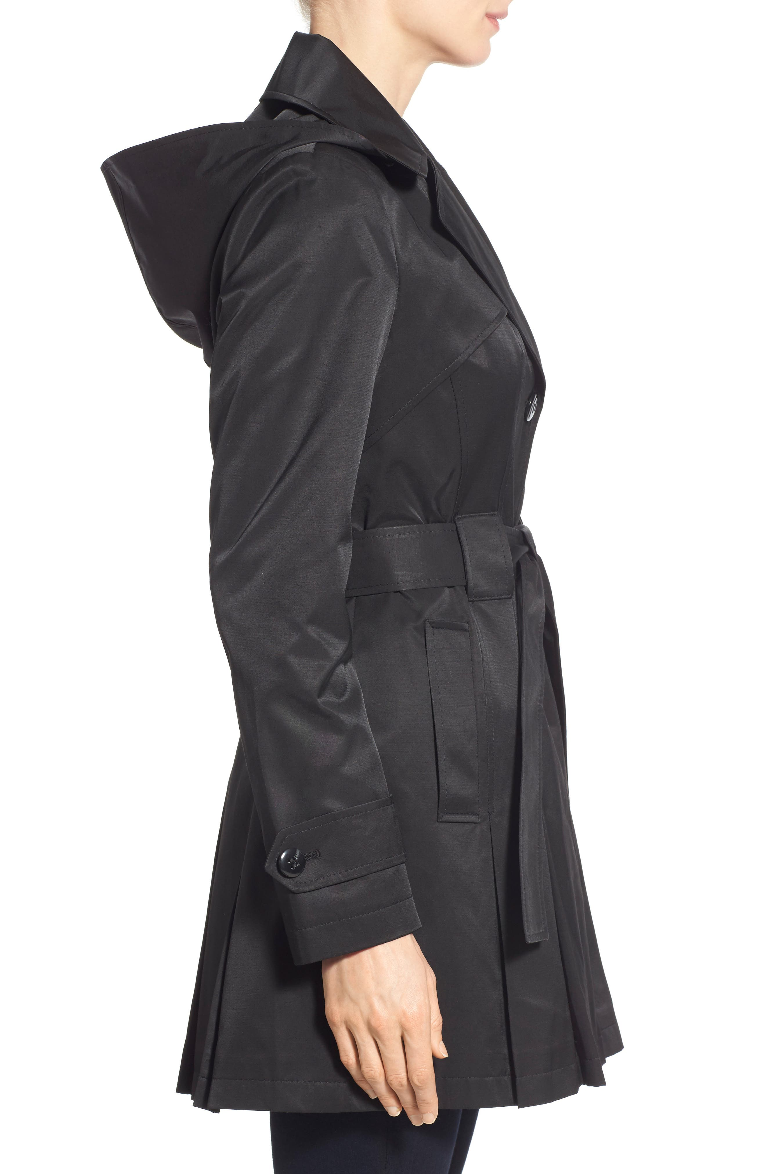 'Scarpa' Hooded Single Breasted Trench Coat,                             Alternate thumbnail 27, color,