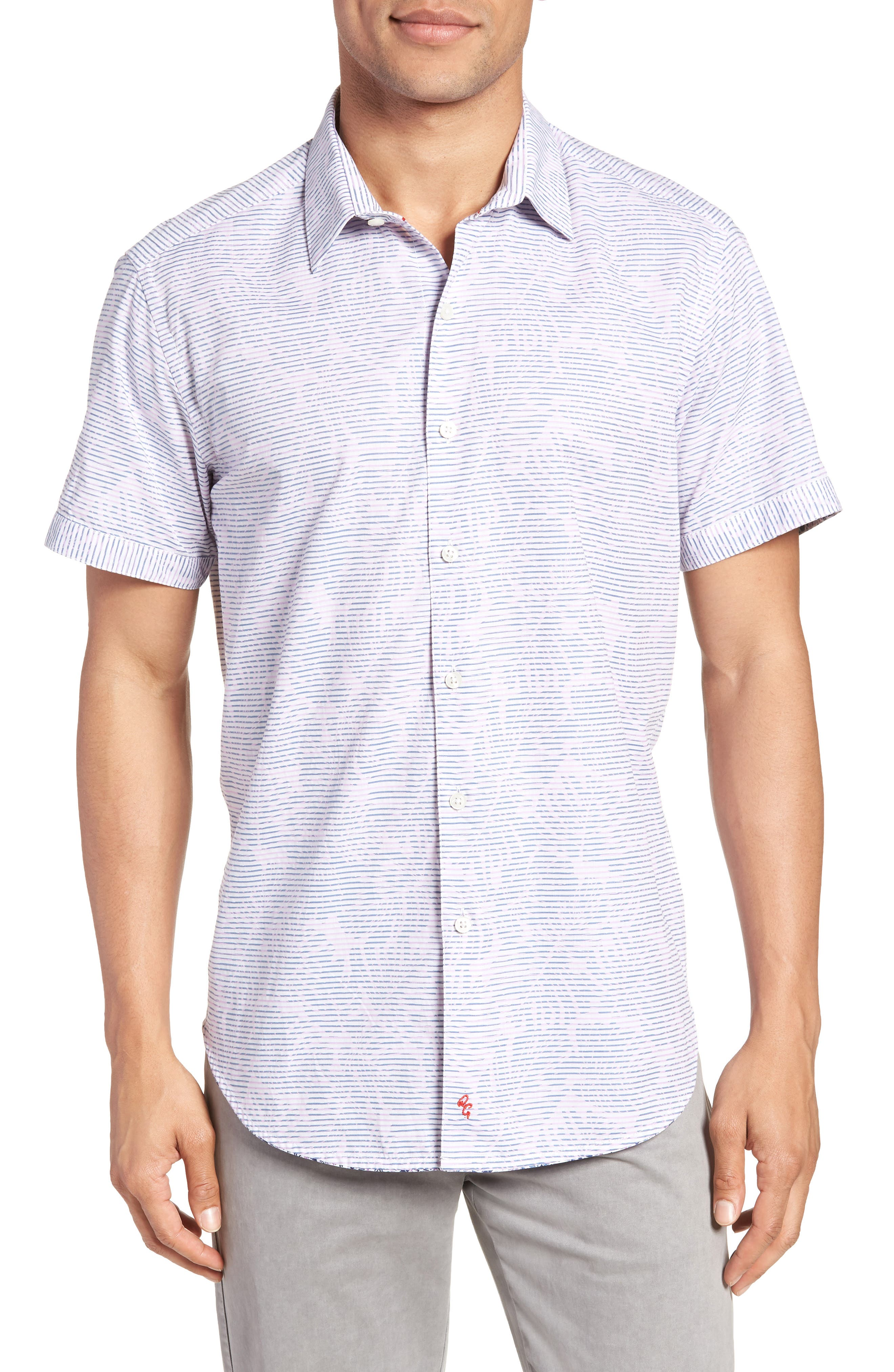 El Carmelo Classic Fit Sport Shirt,                         Main,                         color, 652