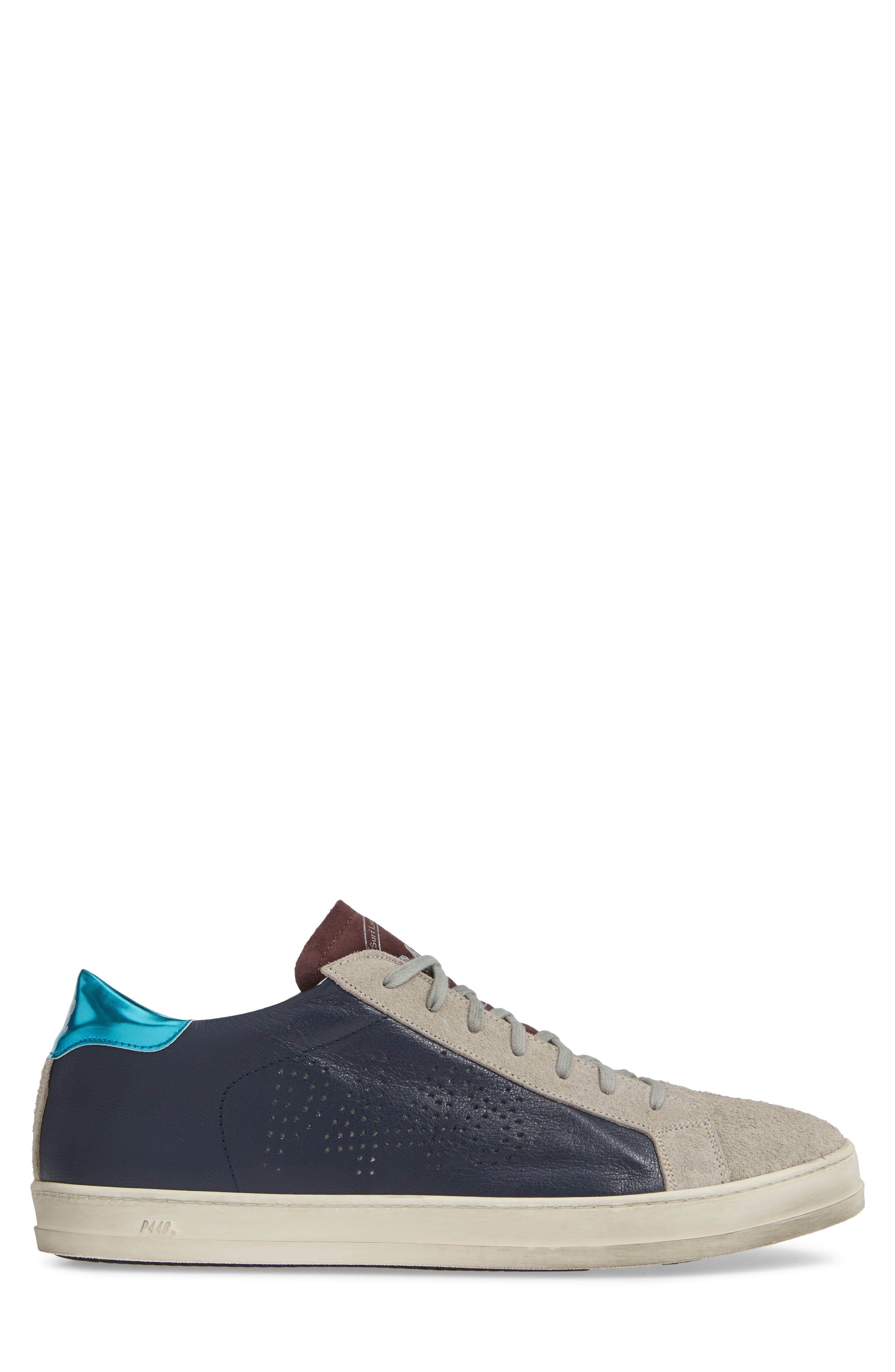 A8 John Sneaker,                             Alternate thumbnail 3, color,                             NAVY