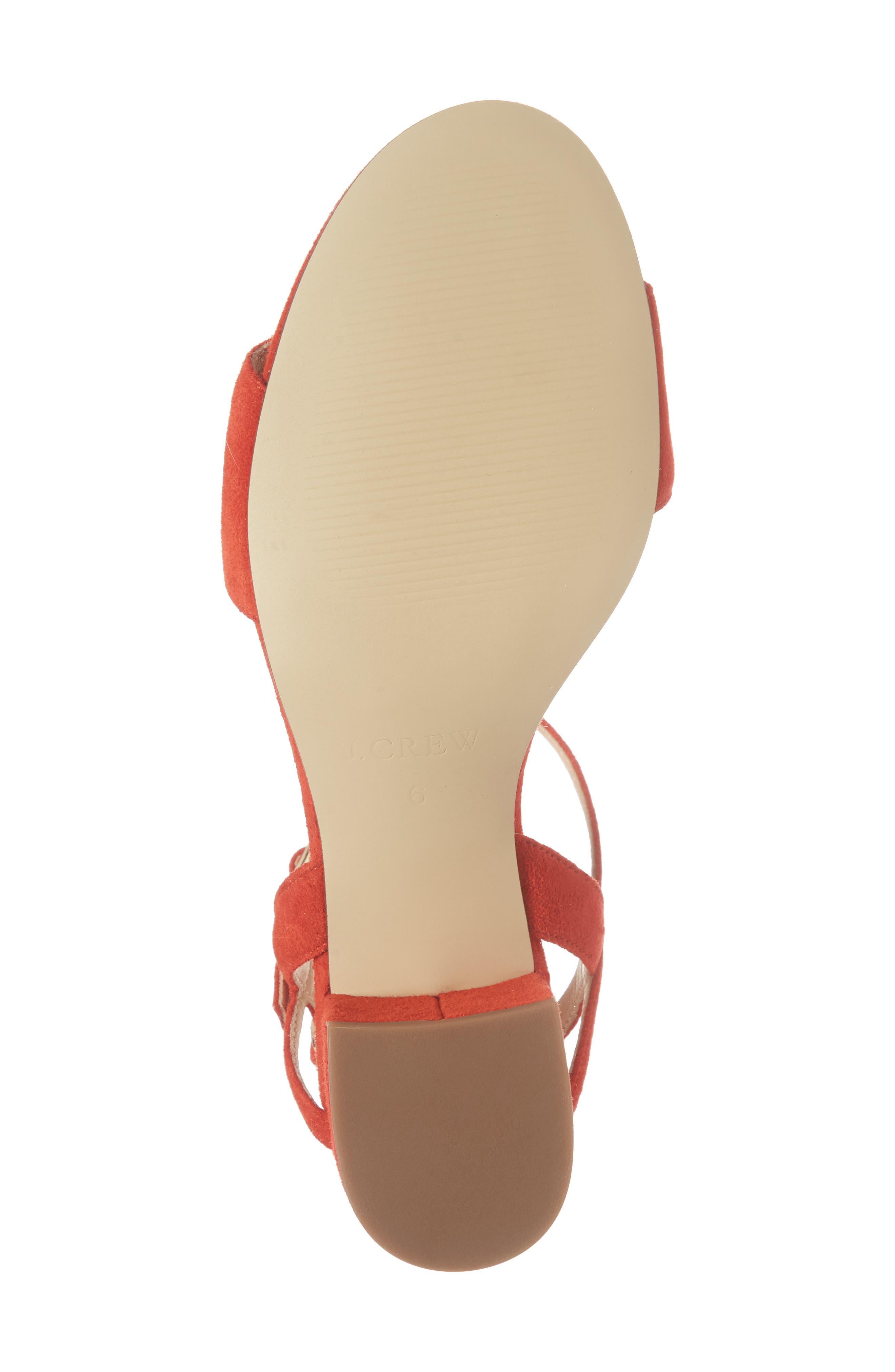 Strappy Block Heel Sandal,                             Alternate thumbnail 15, color,