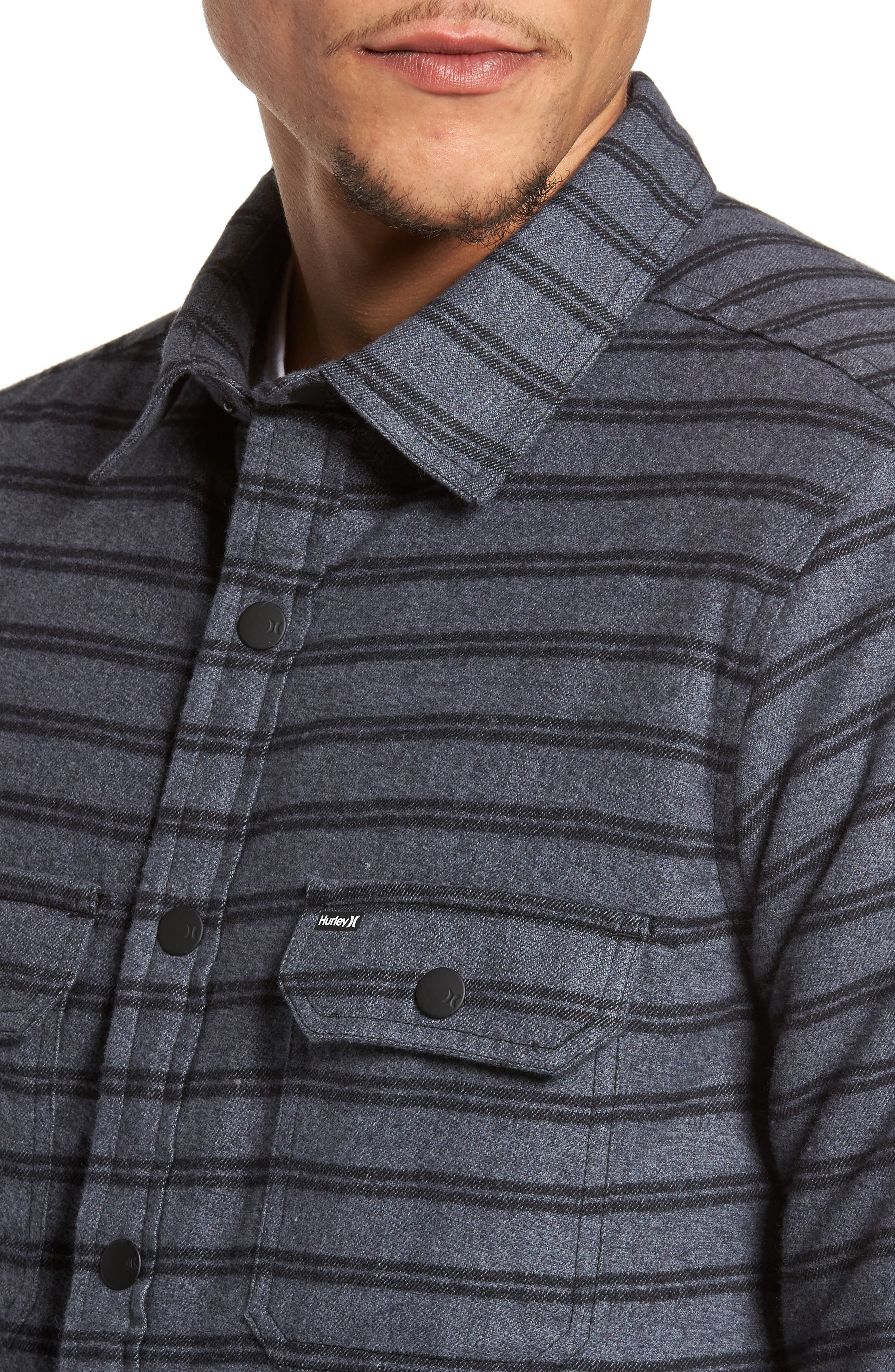 Dispatch Shirt Jacket,                             Alternate thumbnail 4, color,                             010