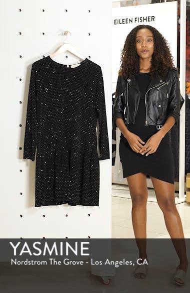 Long Sleeve Pleated Skirt Dress, sales video thumbnail
